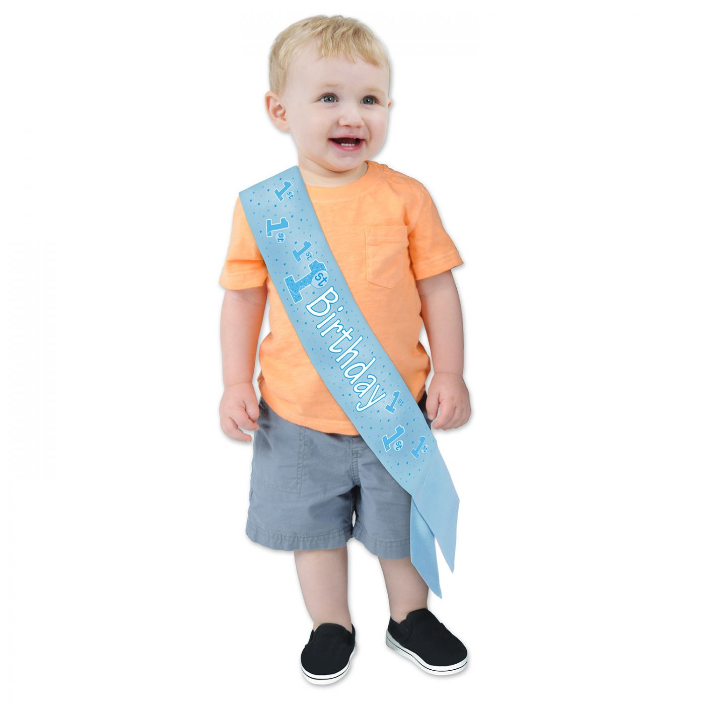 Image of 1st Birthday Satin Sash (6)