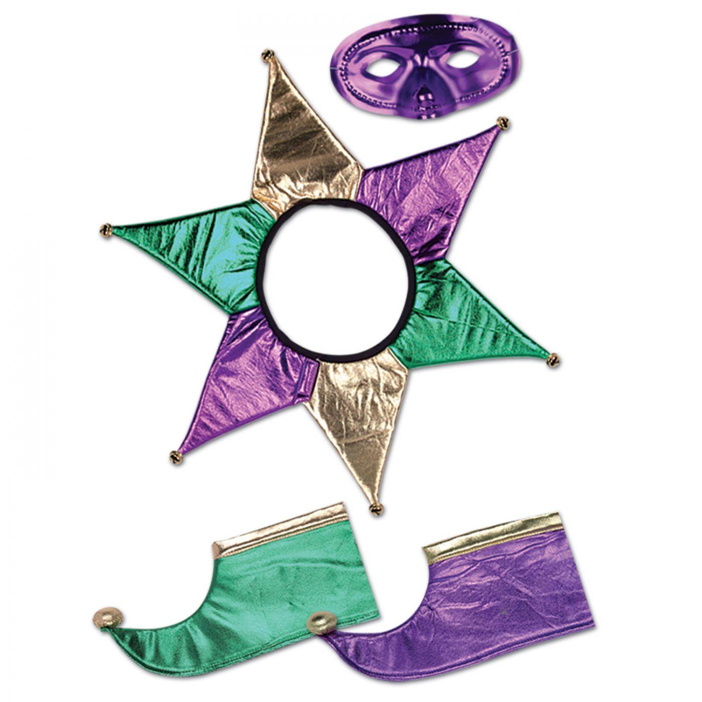 Mardi Gras Jester Set (6) image