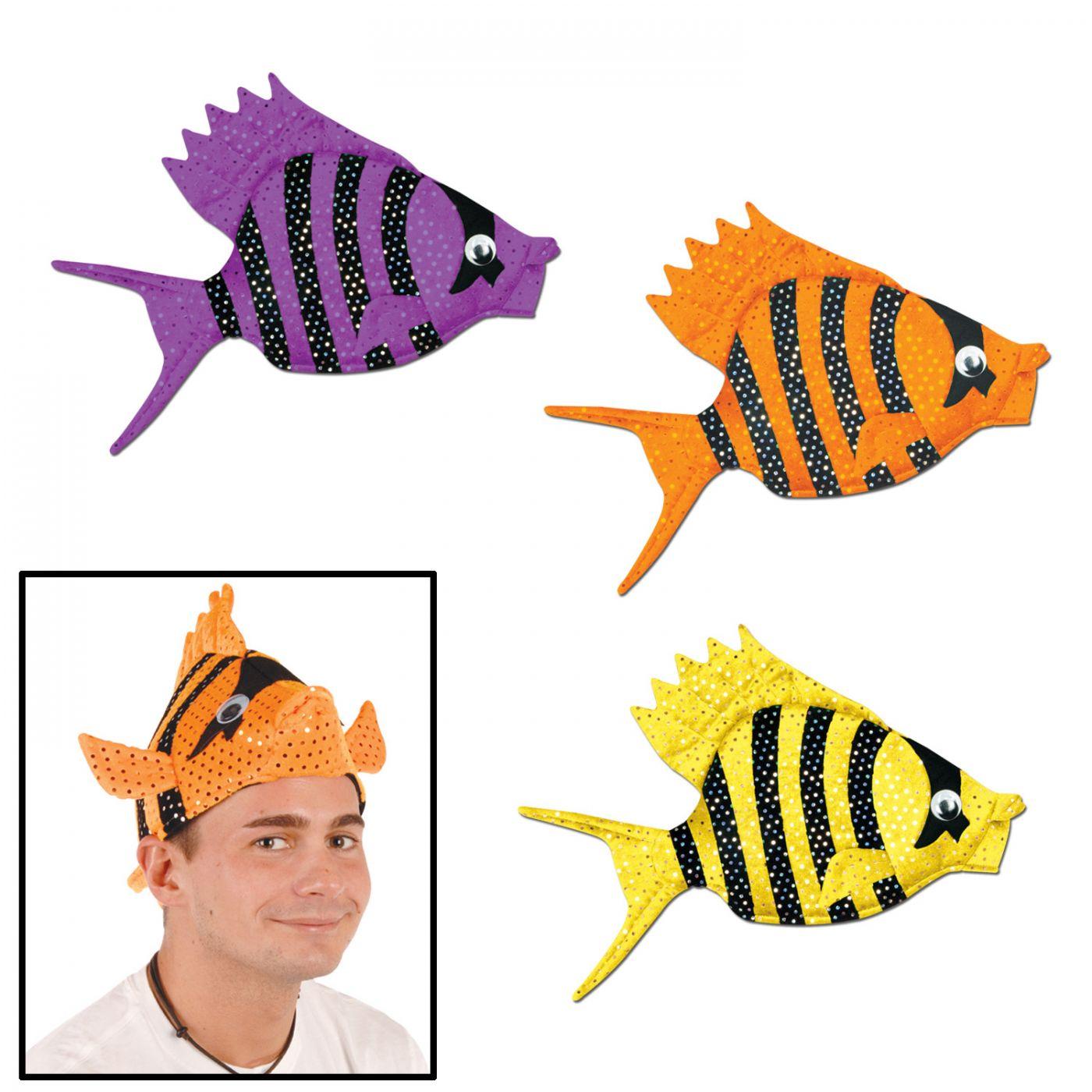 Plush Luau Fish Hats (6) image