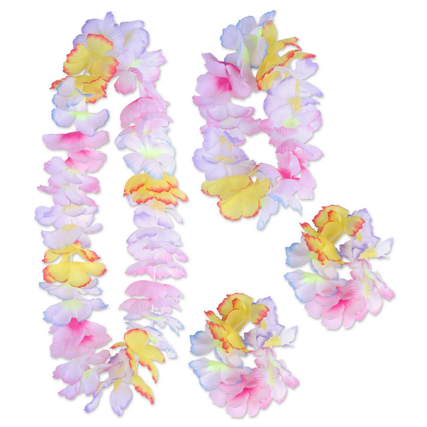 Paradise Floral Lei Set (6) image