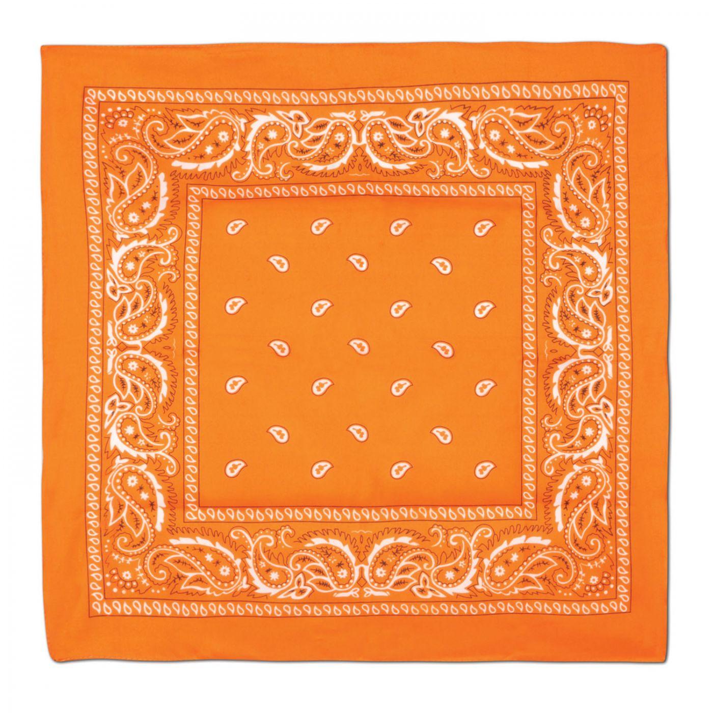 Orange Bandana image
