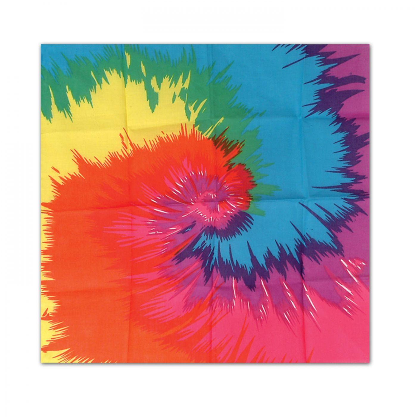 Funky Tie-Dyed Bandana image