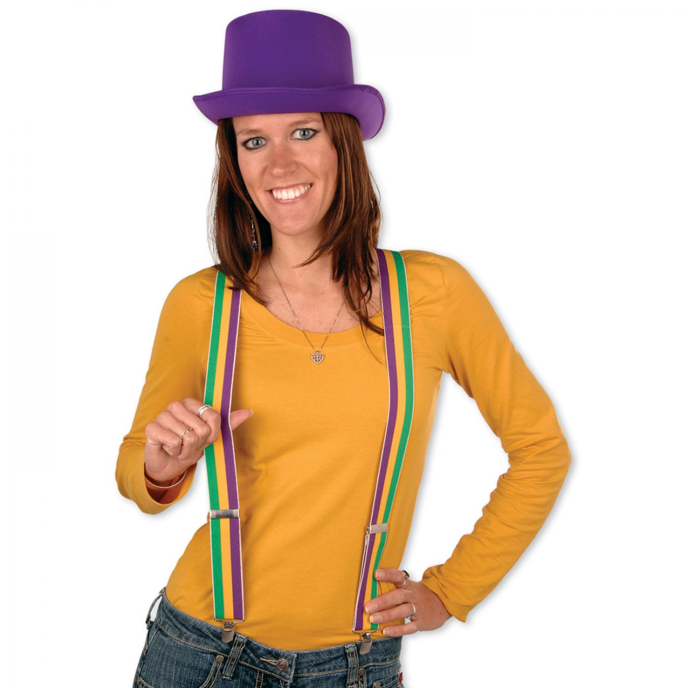 Mardi Gras Suspenders image