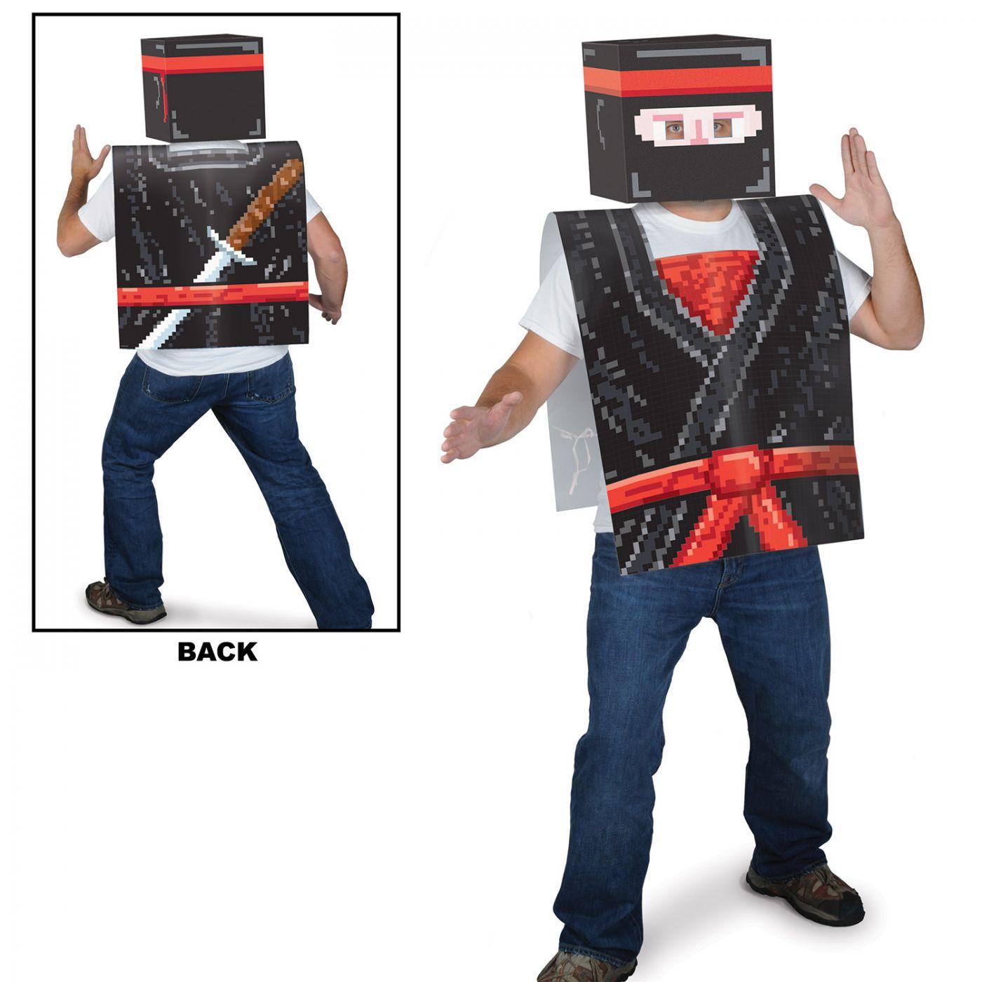 Plastic 8-Bit Ninja Vest image