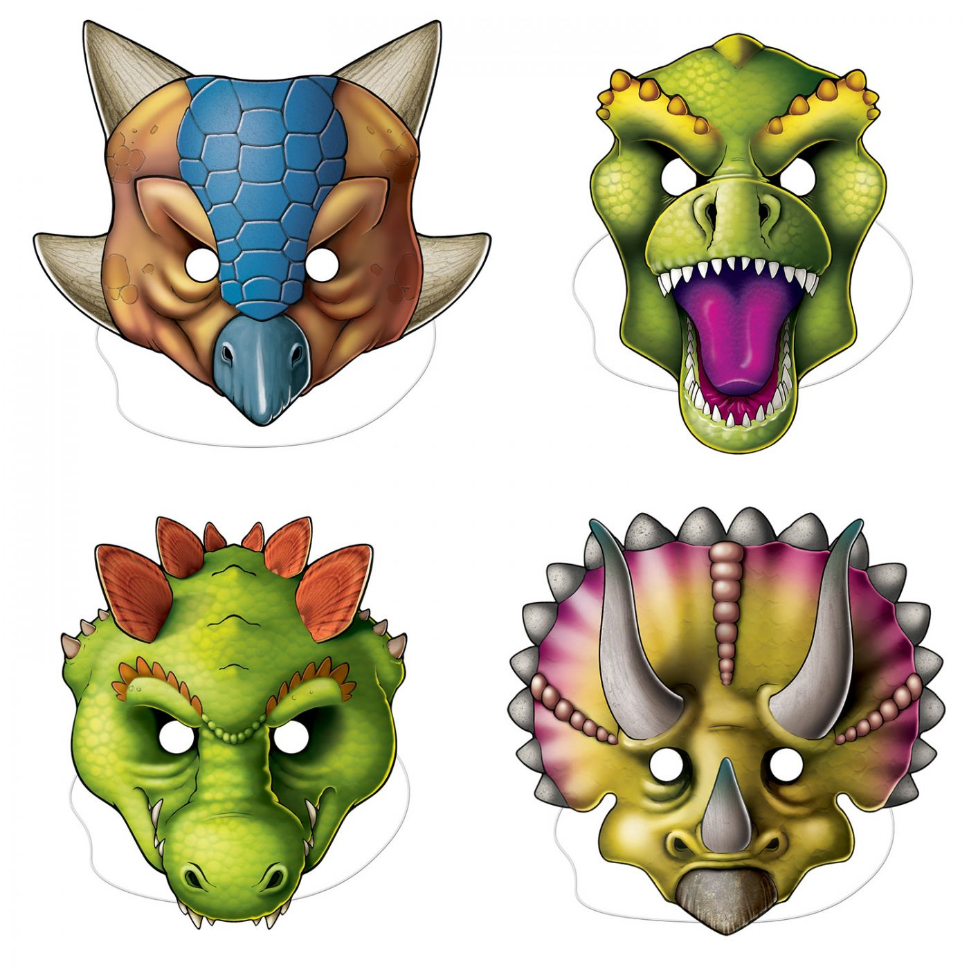 Dinosaur Masks image