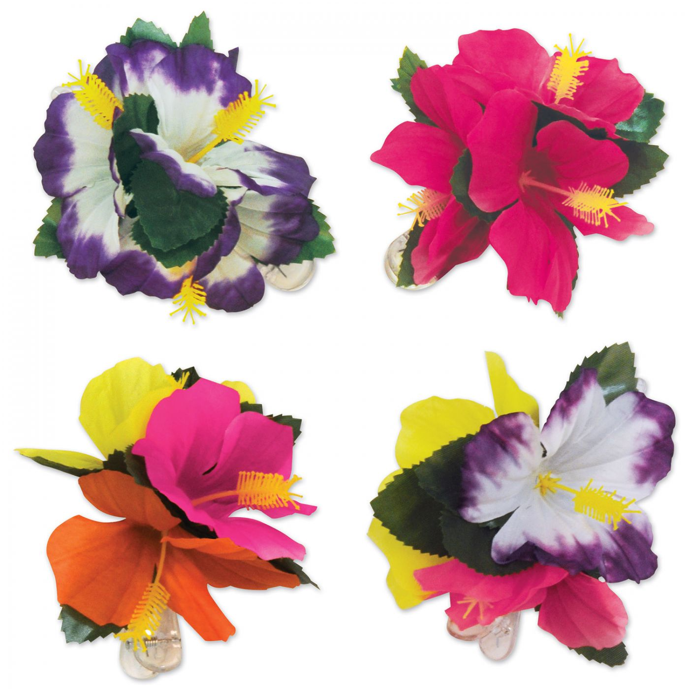 Tropical Hair Clips (6) image