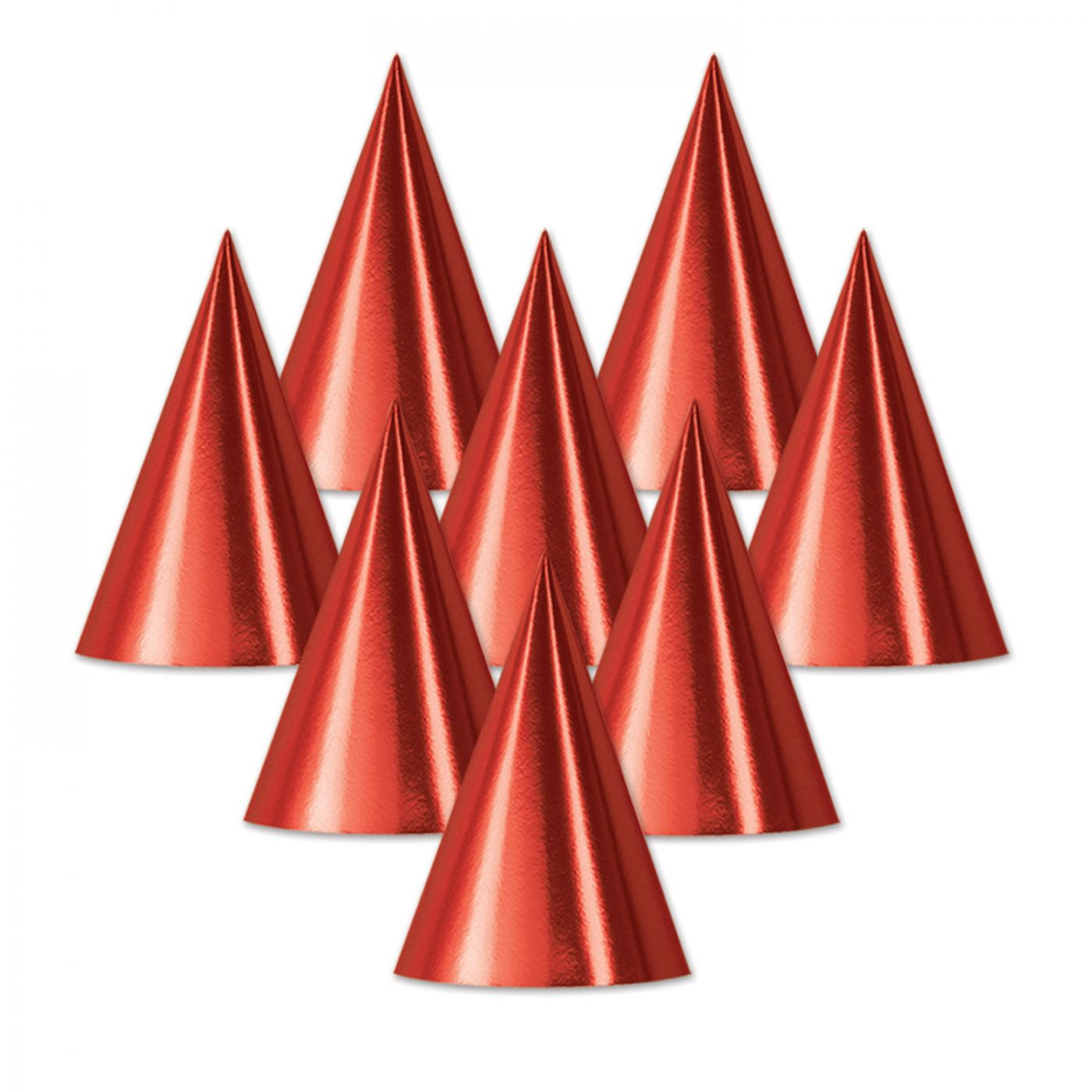Foil Cone Hat (48) image