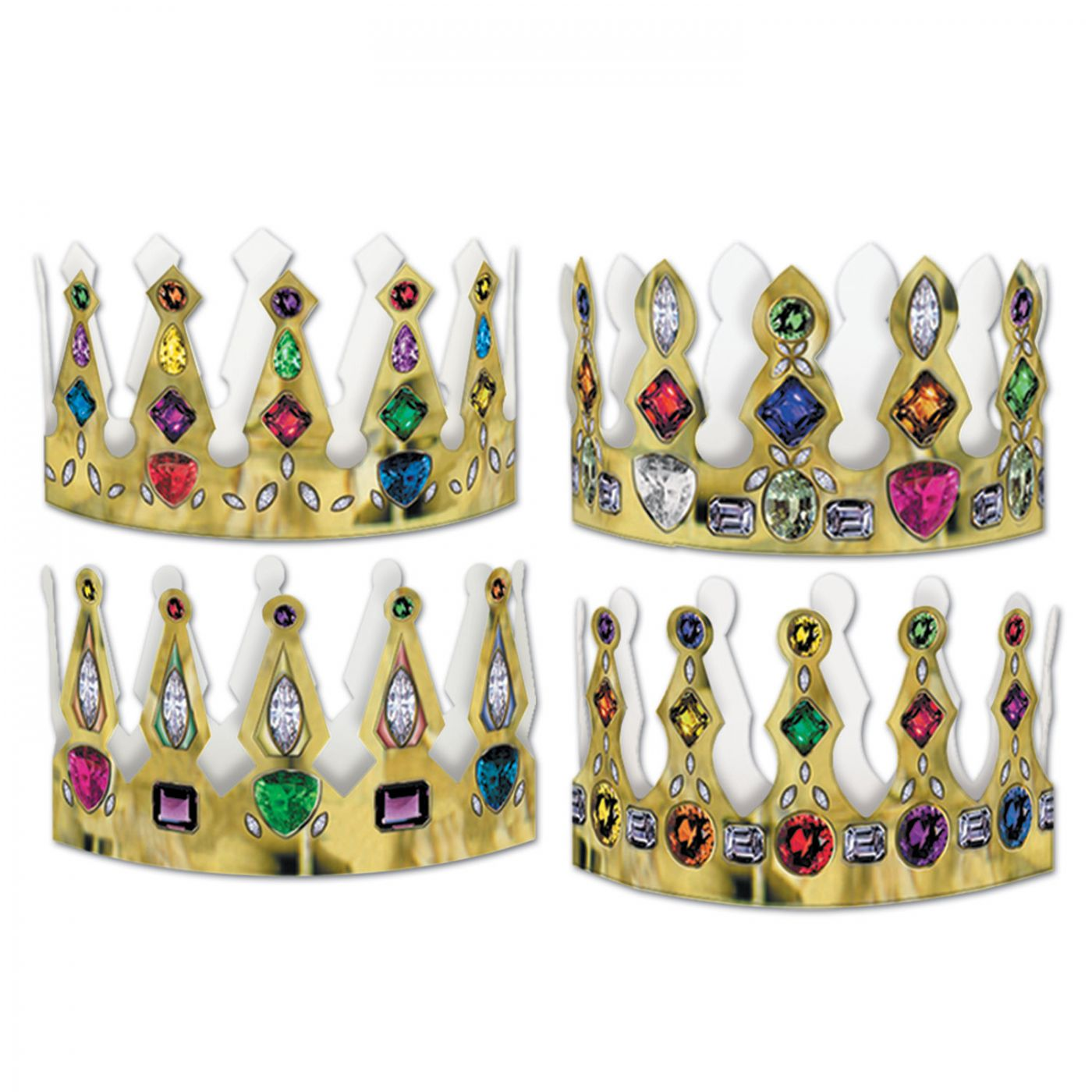 Printed Jeweled Crowns (72) image