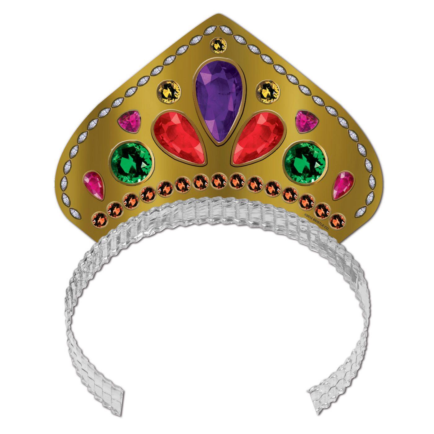 Printed Jeweled Tiara (72) image