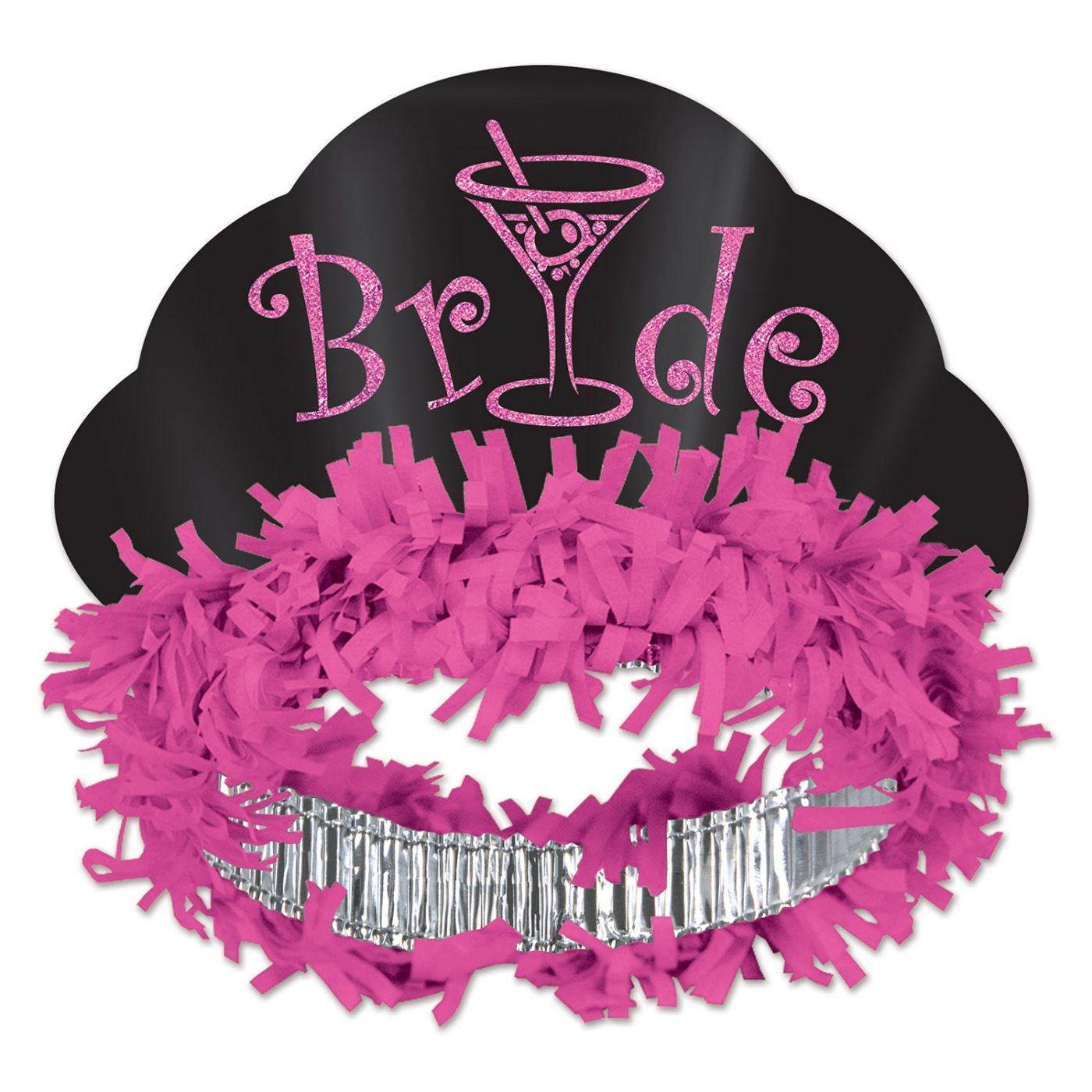 Glittered Bride Tiara image