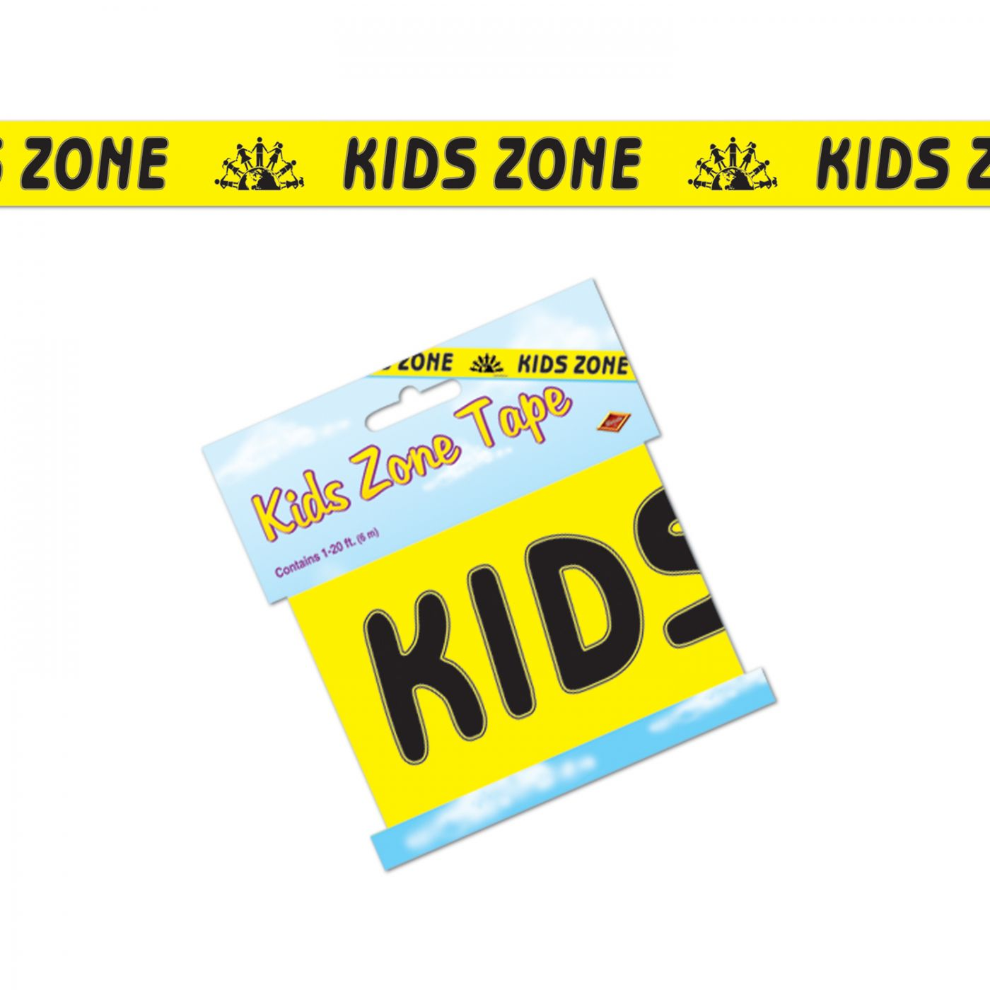 Kids Zone Party Tape image