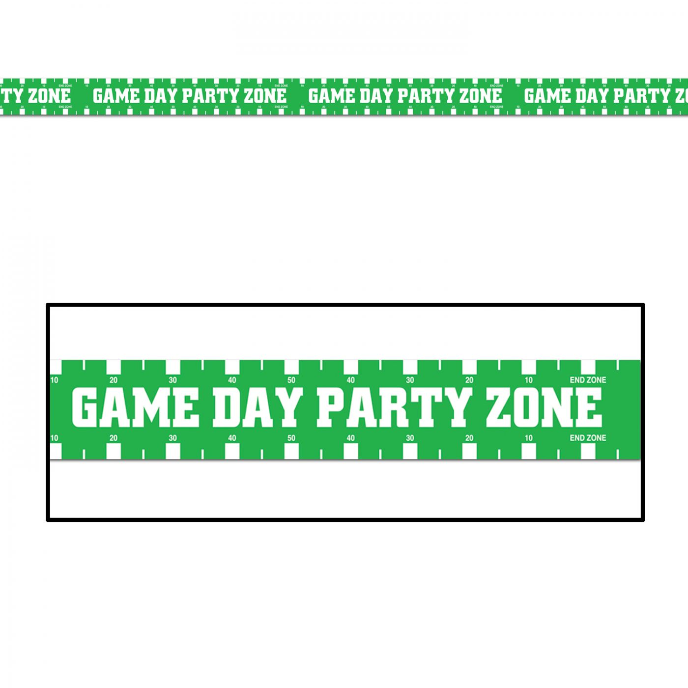 Game Day Party Zone Party Tape image