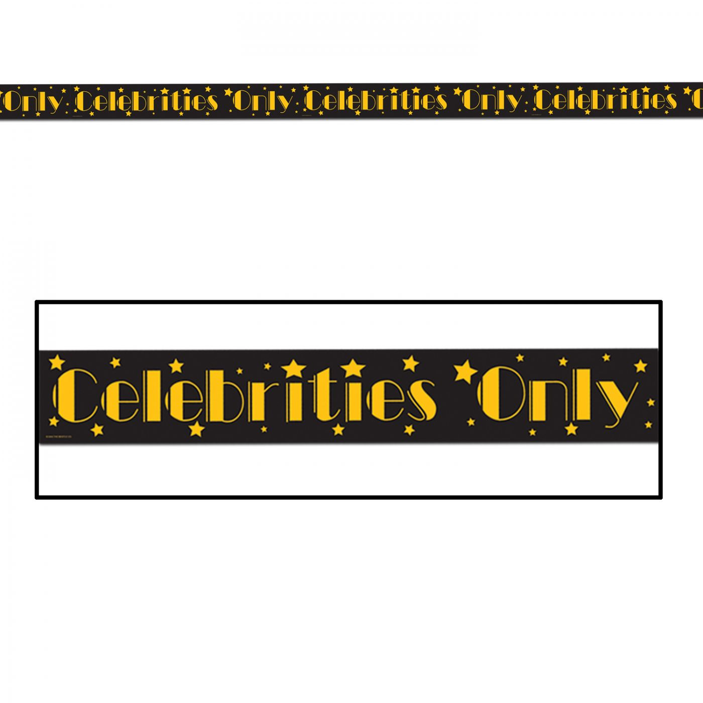 Celebrities Only Party Tape image