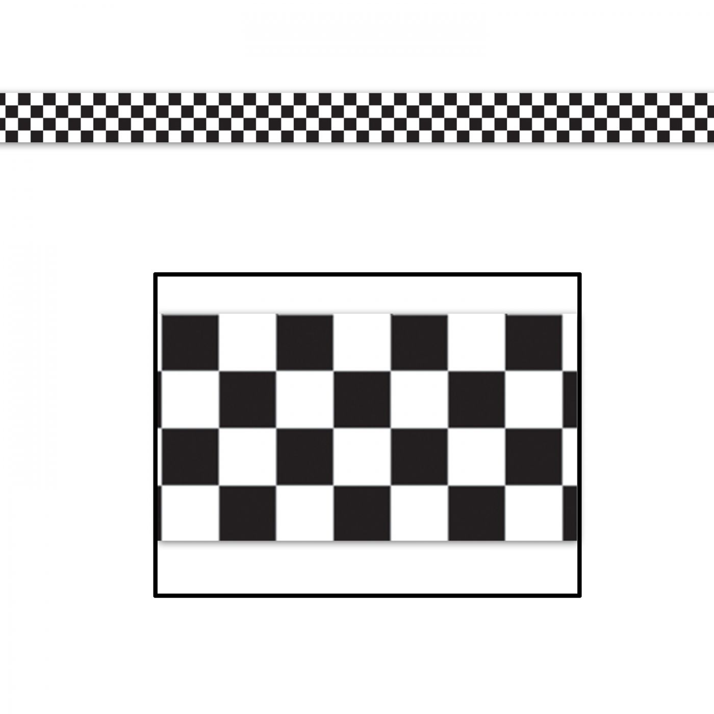 Checkered Poly Decorating Material image