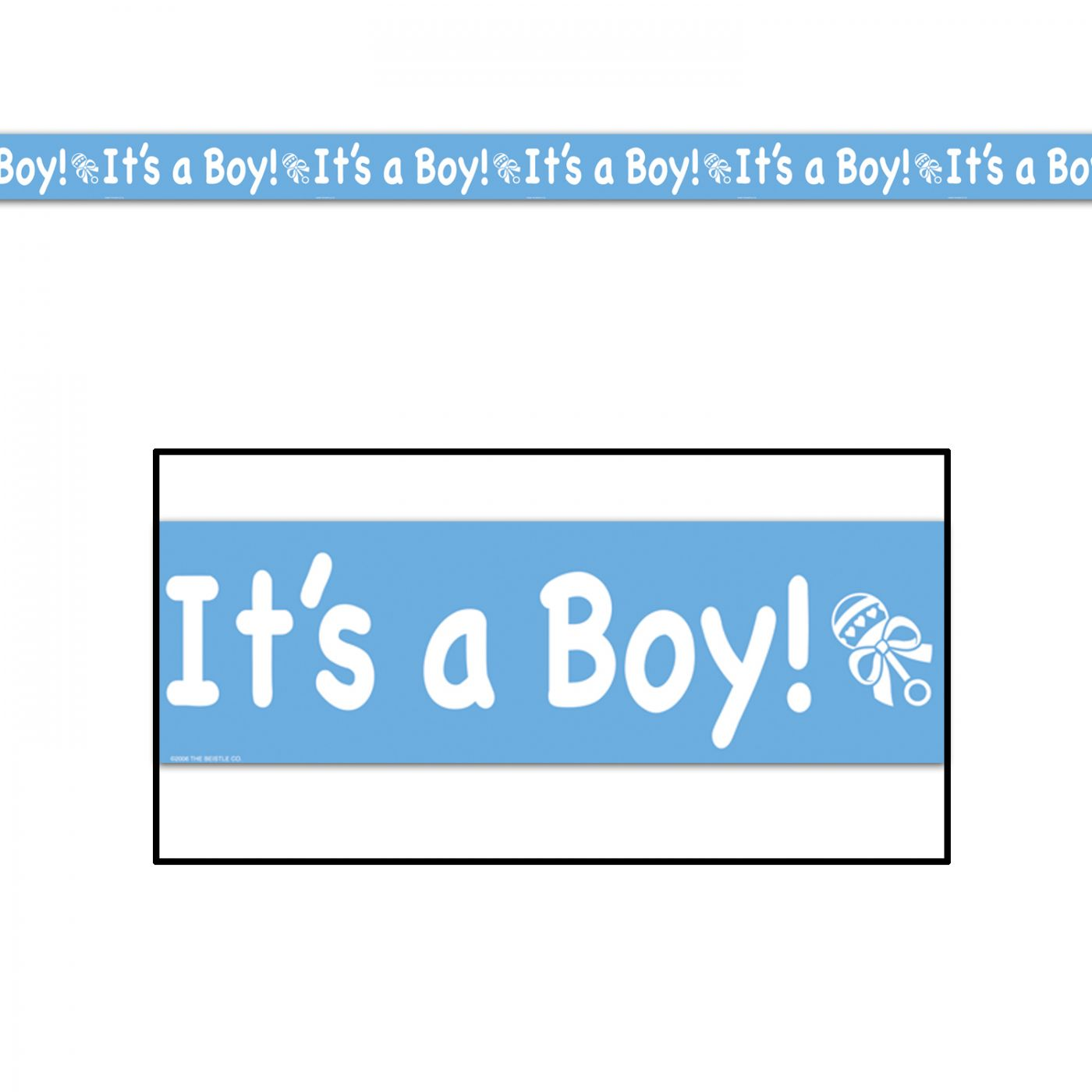 It's A Boy! Party Tape image
