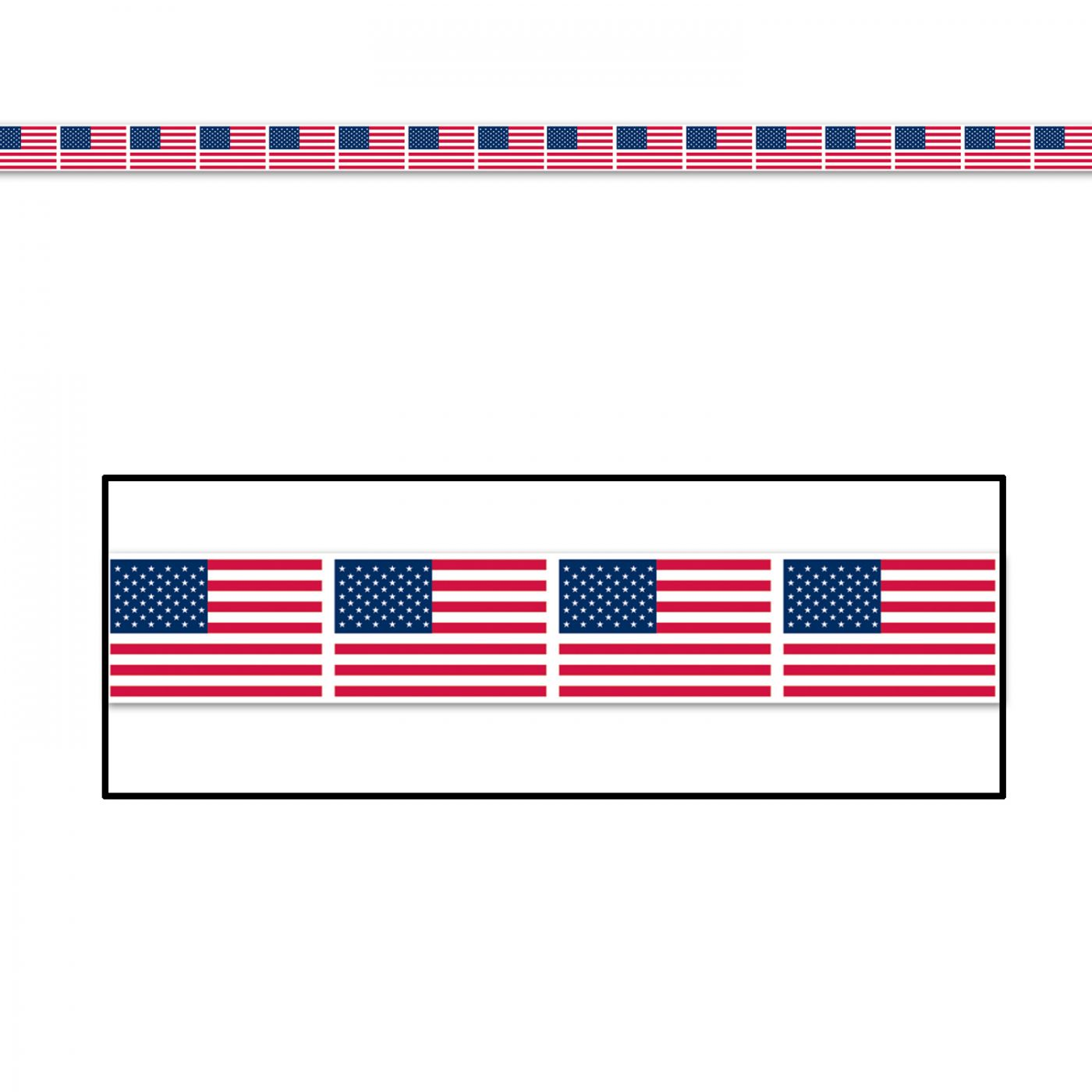 Image of American Flag Party Tape