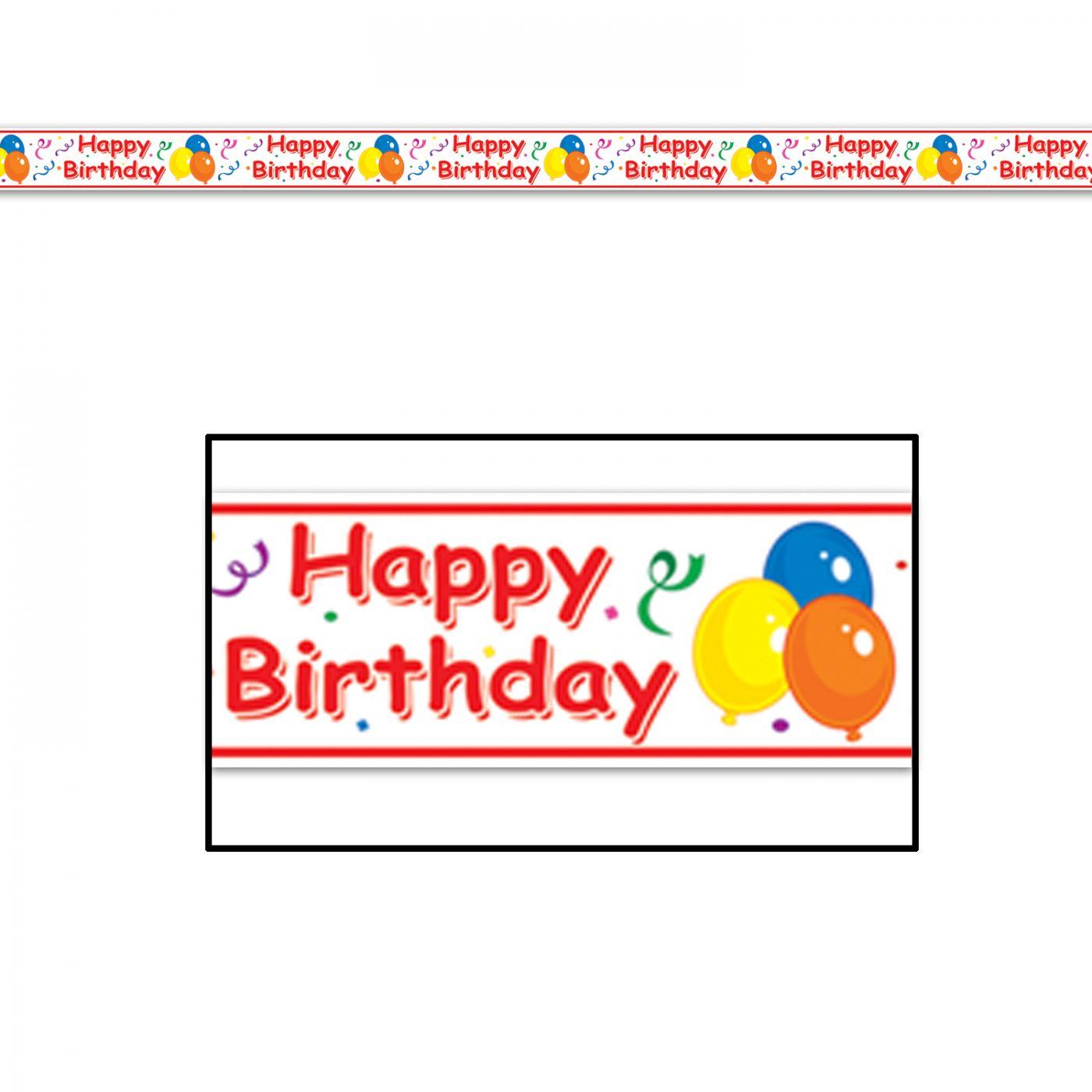 Happy Birthday Party Tape image