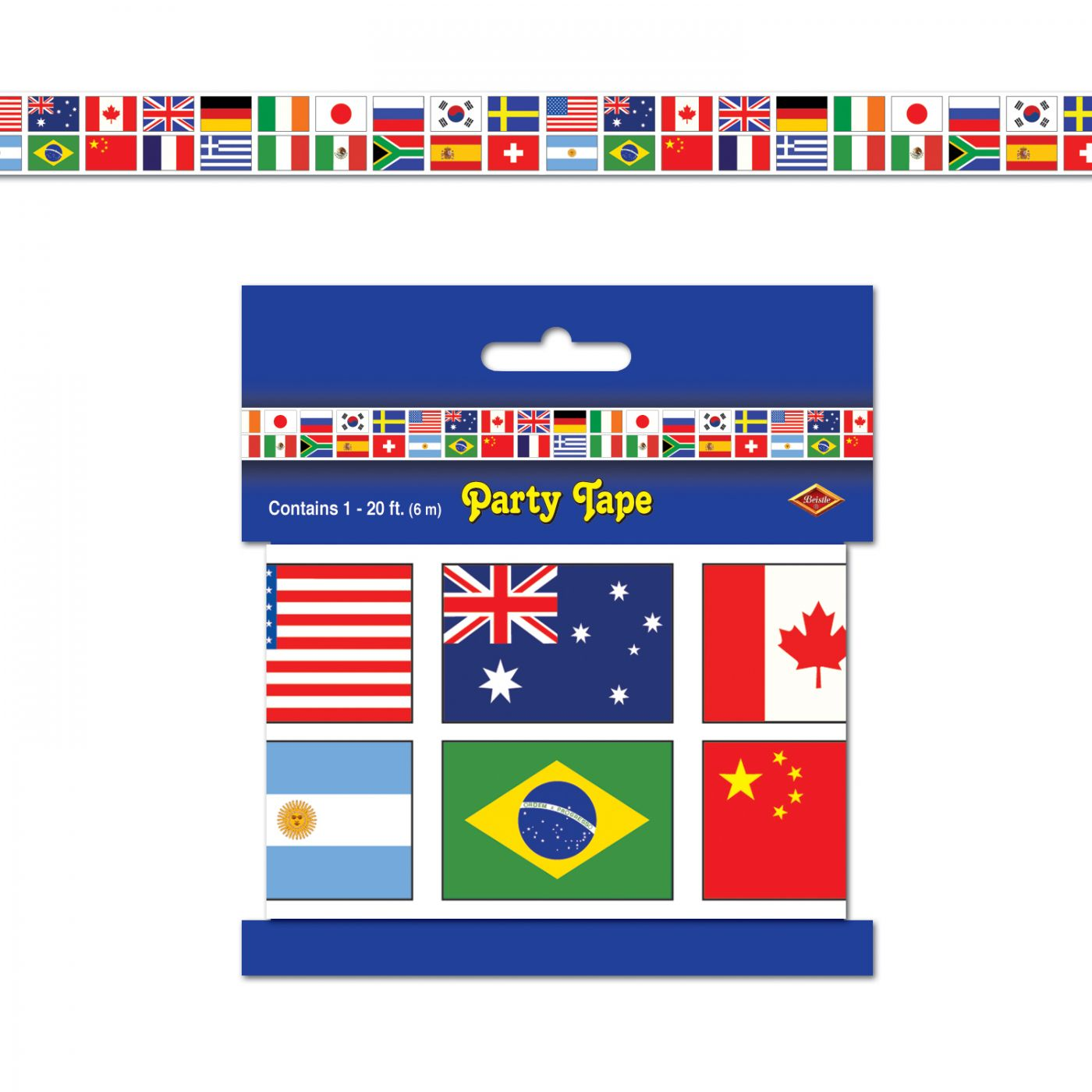 International Flag Party Tape image