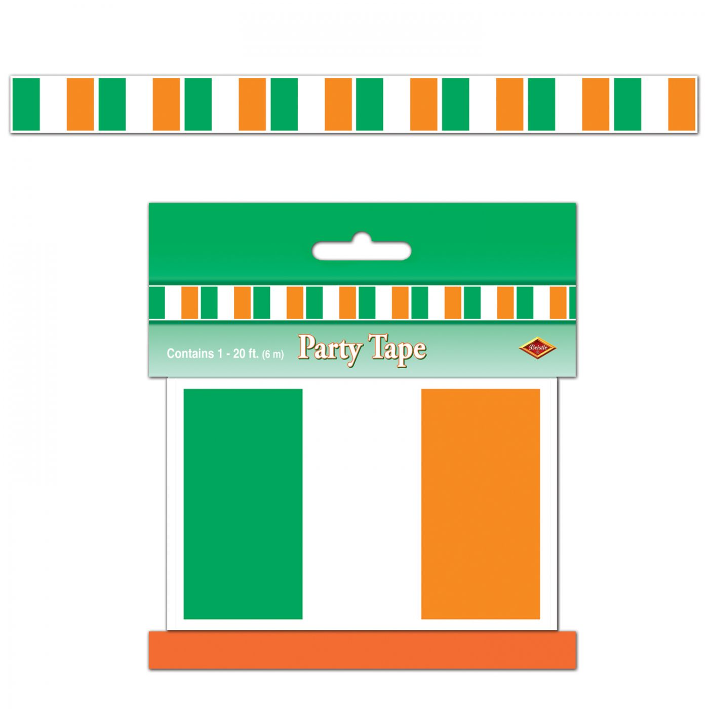Irish Flag Party Tape image