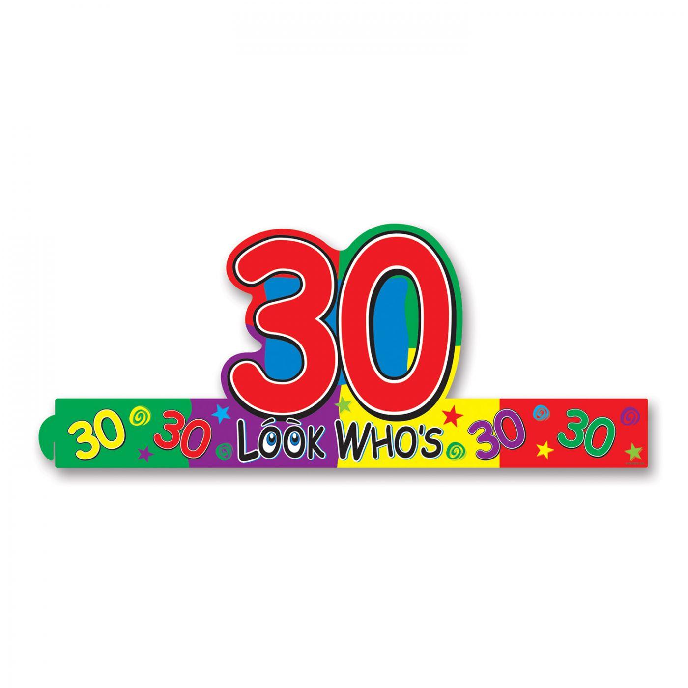 Look Who's  30  Headband (24) image