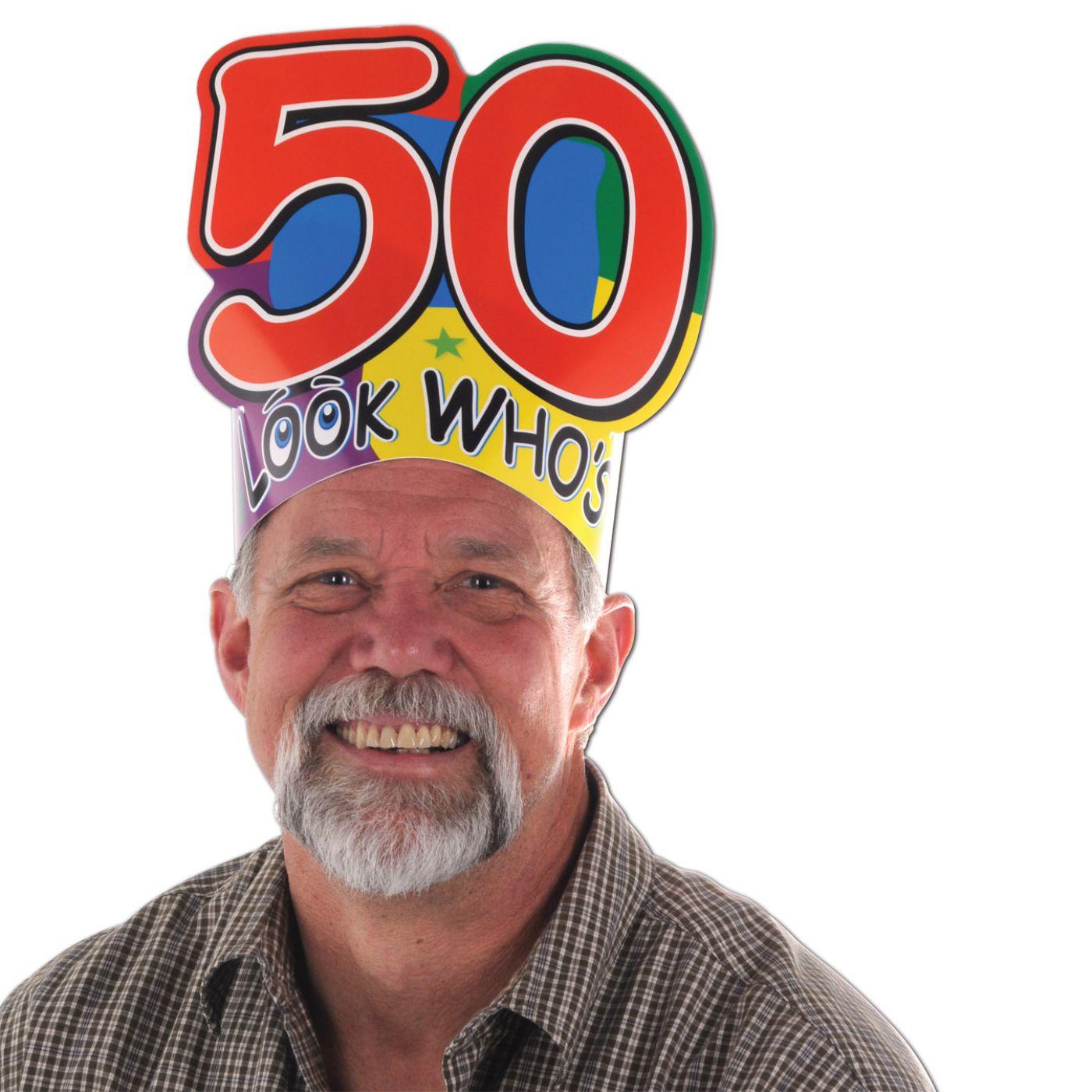 Look Who's  50  Headband (24) image