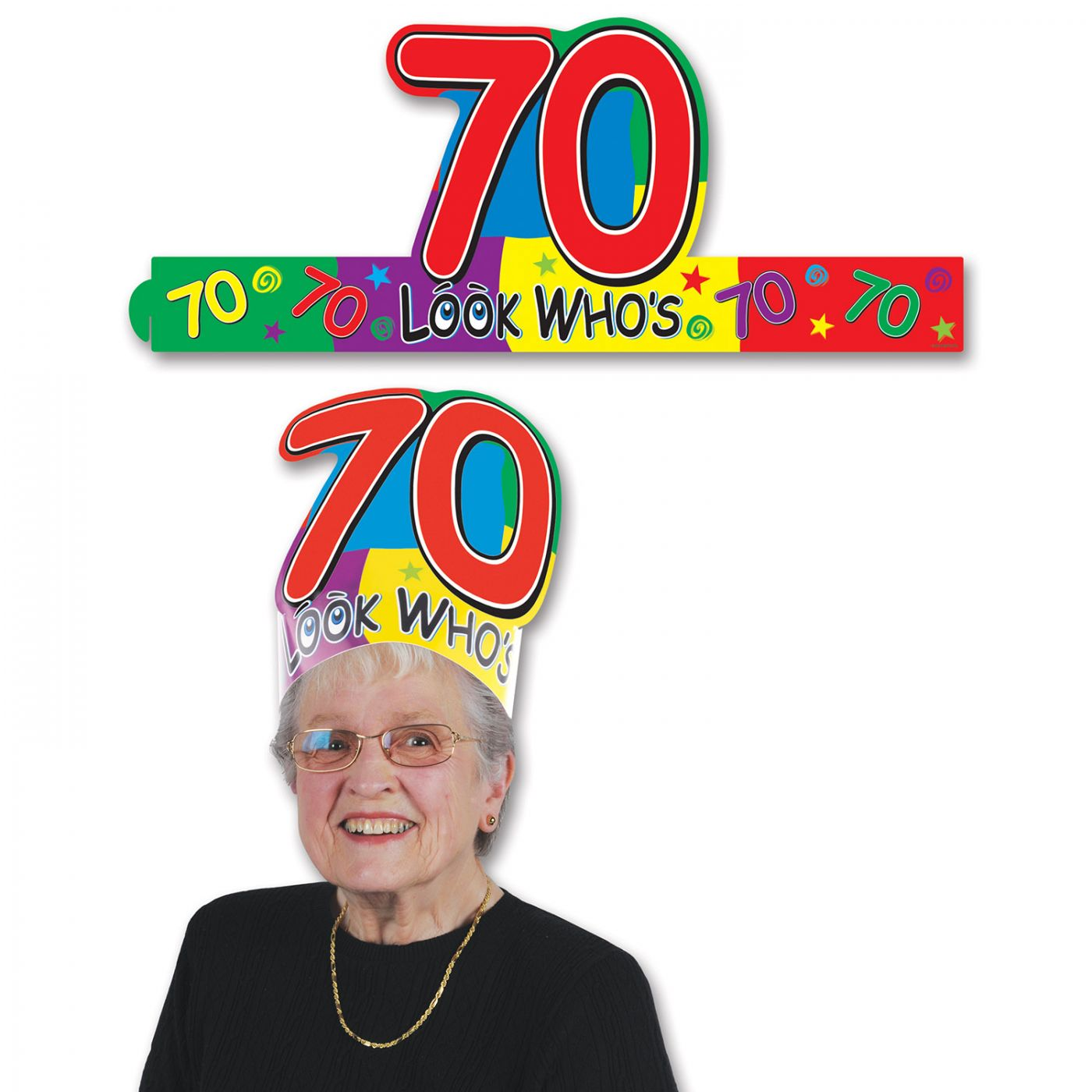 Look Who's  70  Headband (24) image