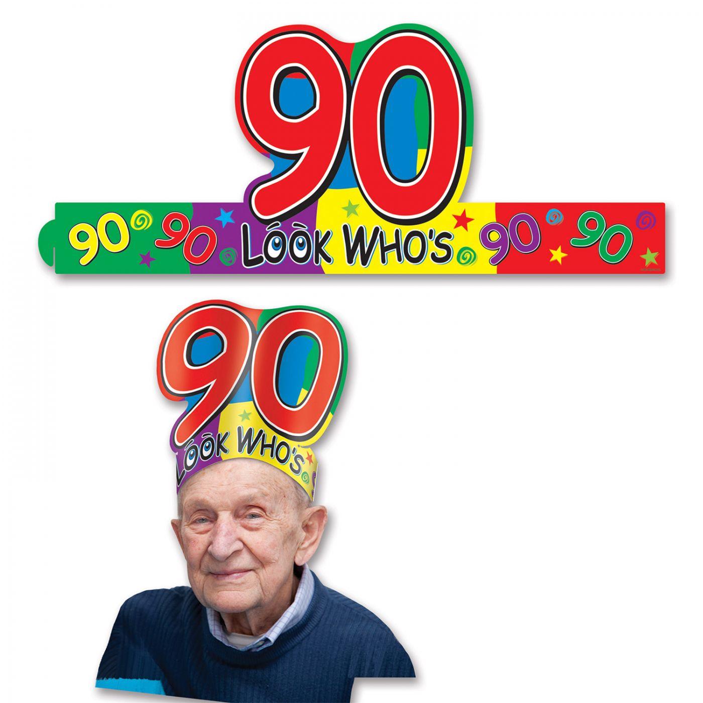 Look Who's  90  Headband (24) image