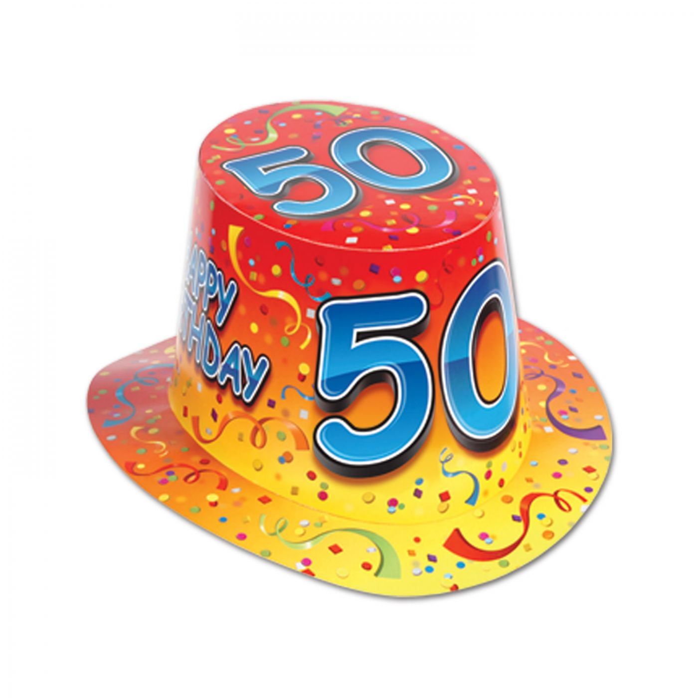 Happy  50  Birthday Hi-Hat (25) image