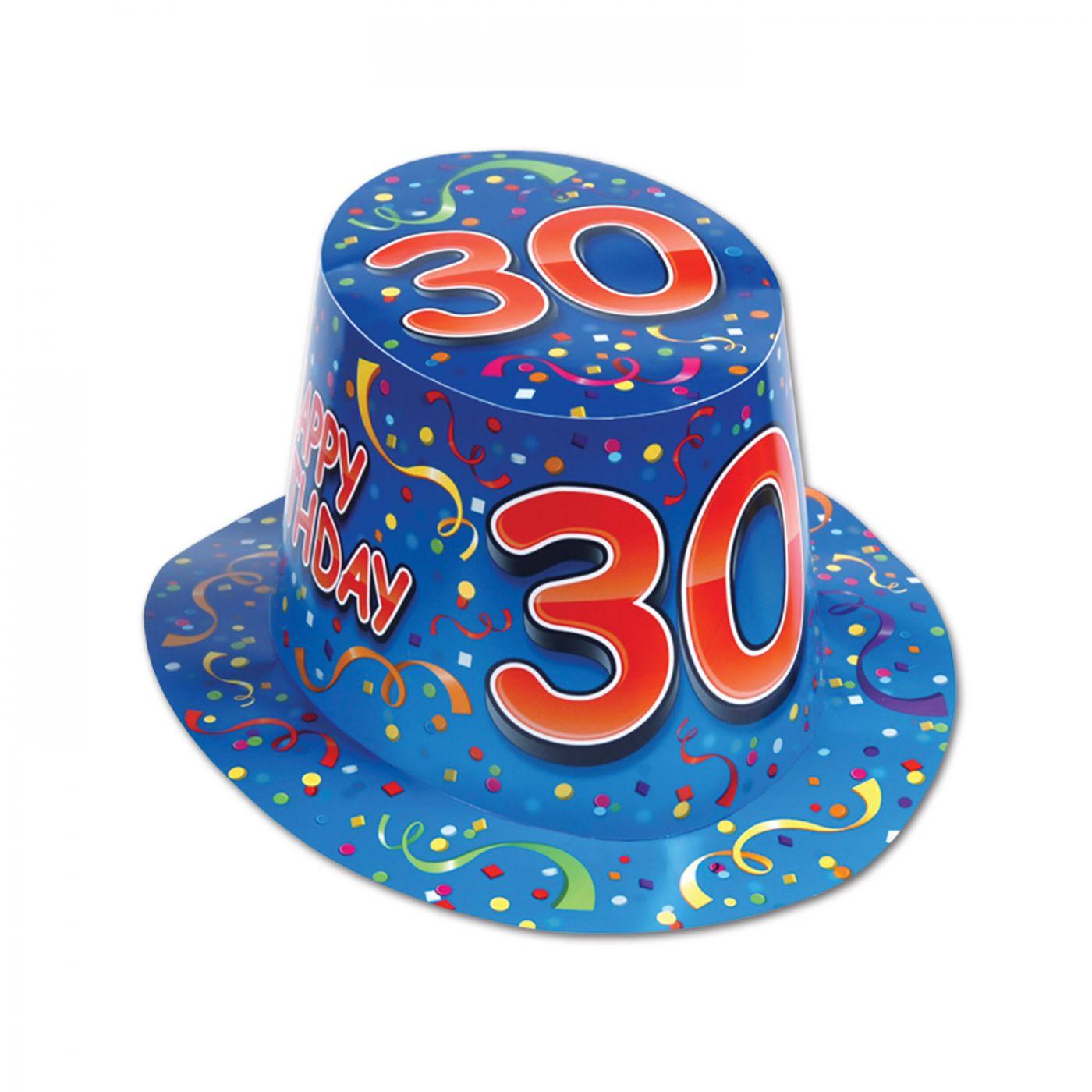 Happy  30  Birthday Hi-Hat (25) image