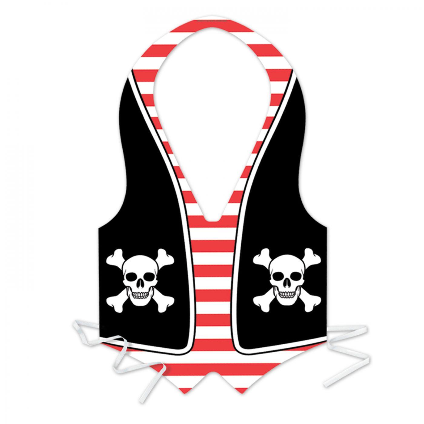 Pkgd Plastic Pirate Vest (24) image