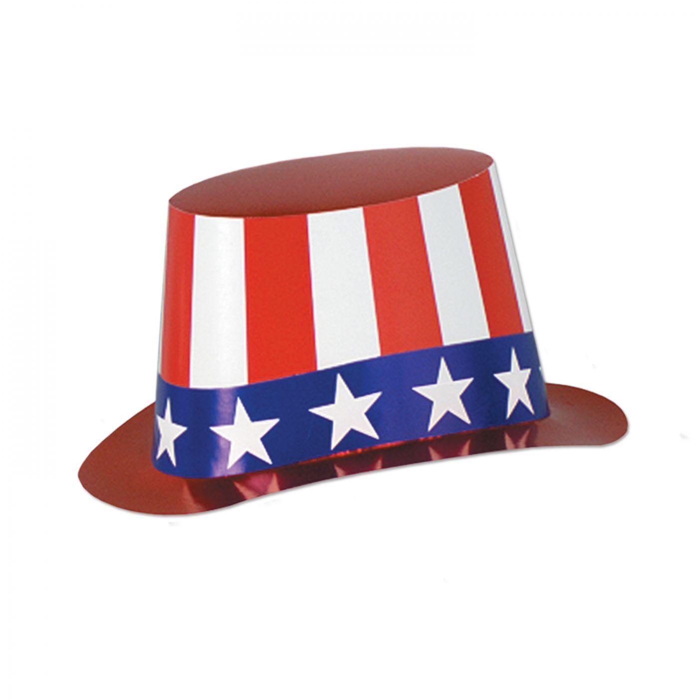 Foil Patriotic Hi-Hat (25) image