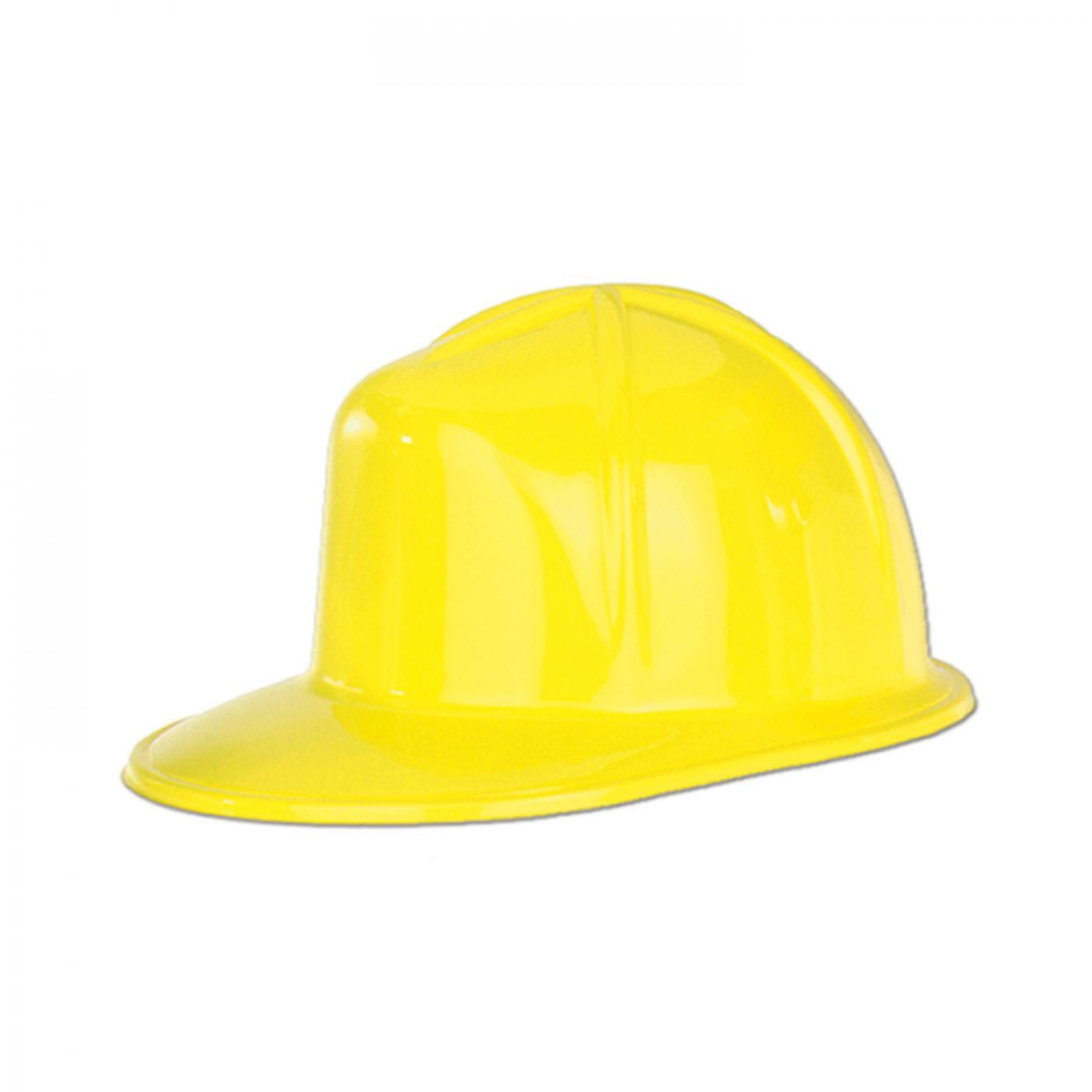 Yellow Plastic Construction Helmet (48) image
