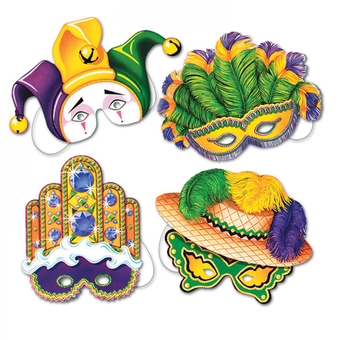 Mardi Gras Masks (24) image