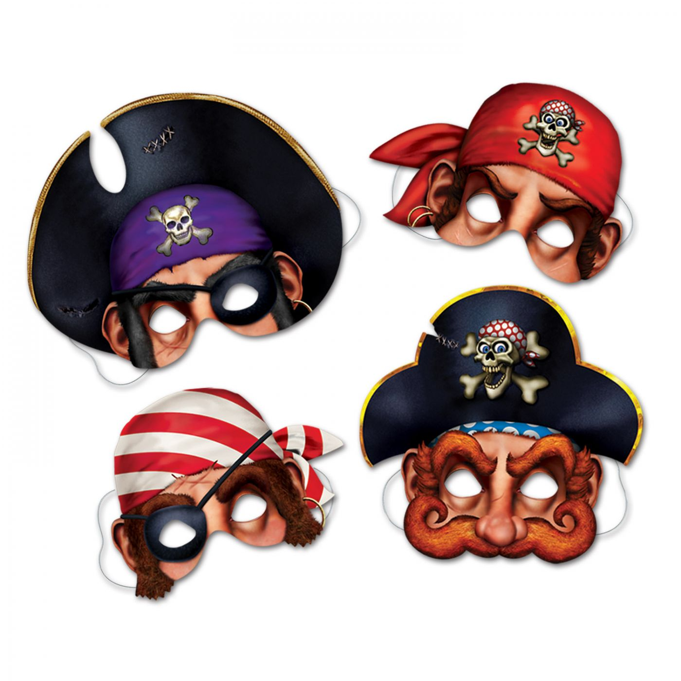 Pirate Masks image
