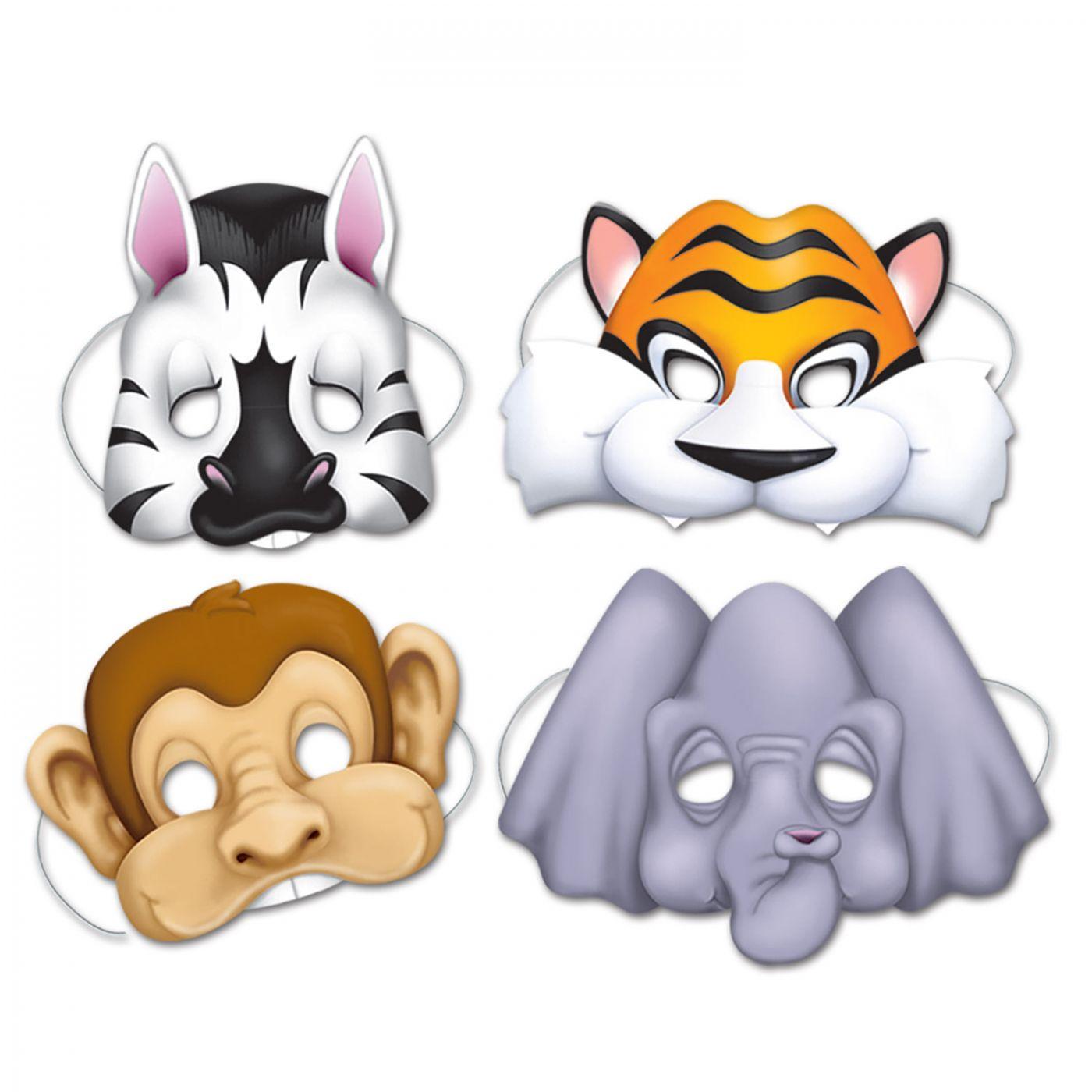 Jungle Animal Masks image