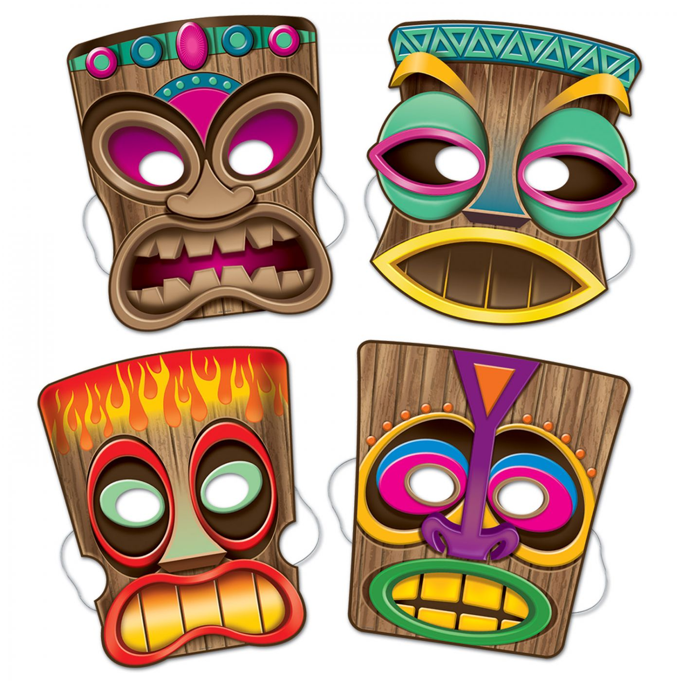 Tiki Masks image