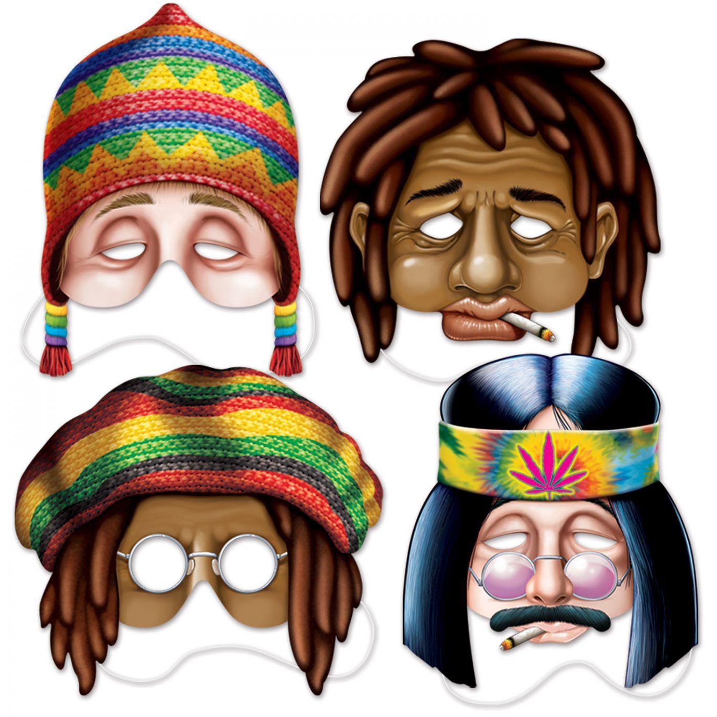 Hippie Masks image