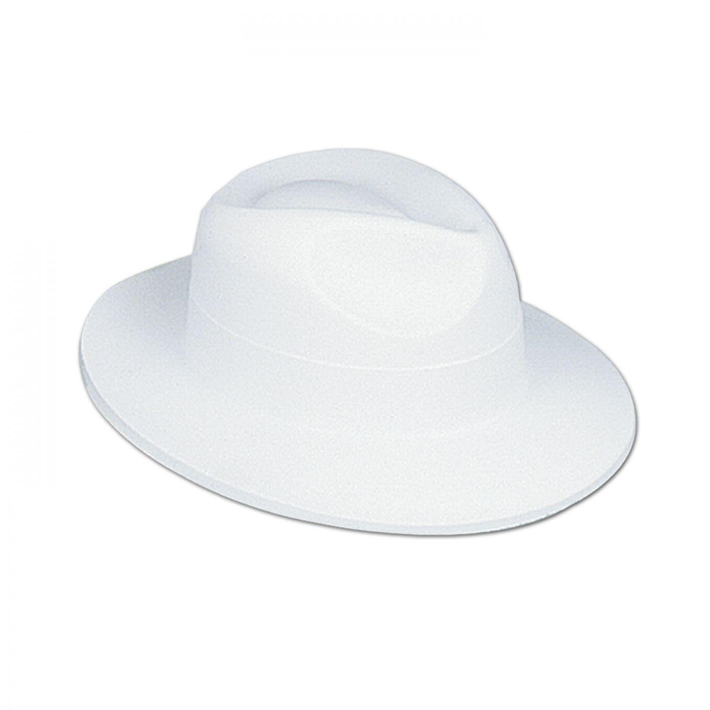 White Velour Fedora (24) image
