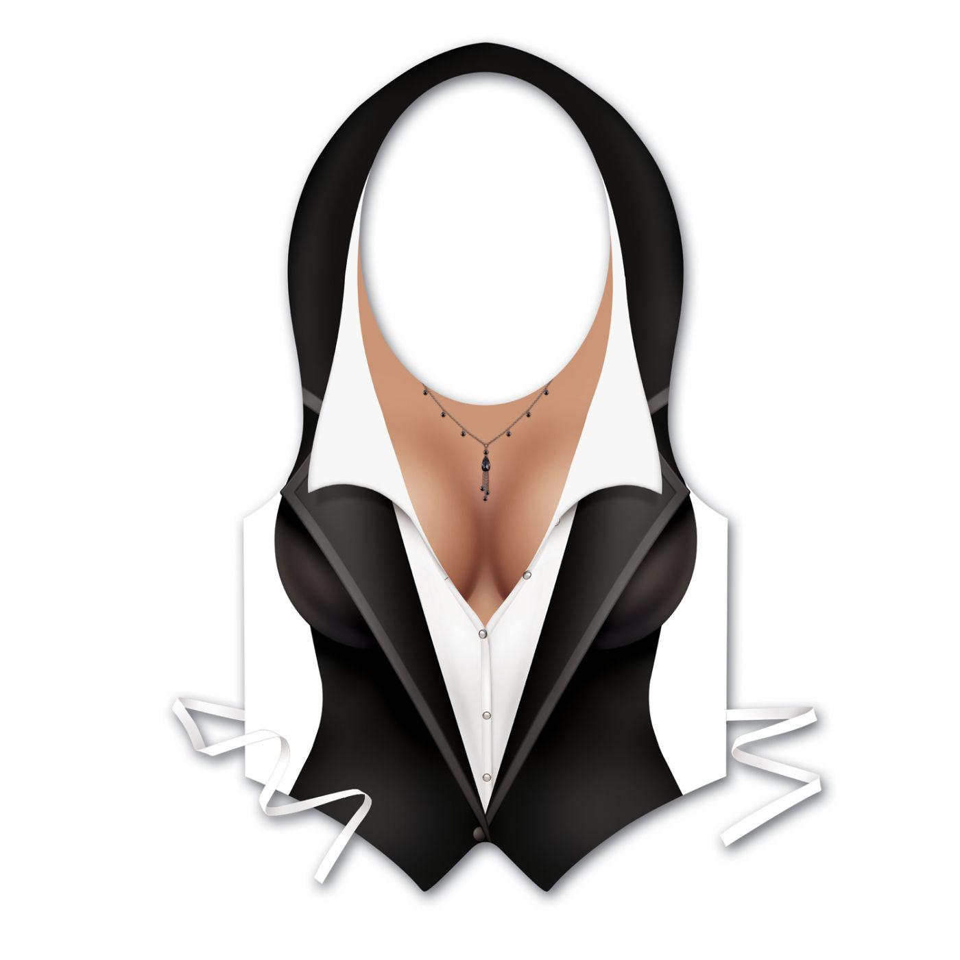 Plastic Female Tux Vest (48) image