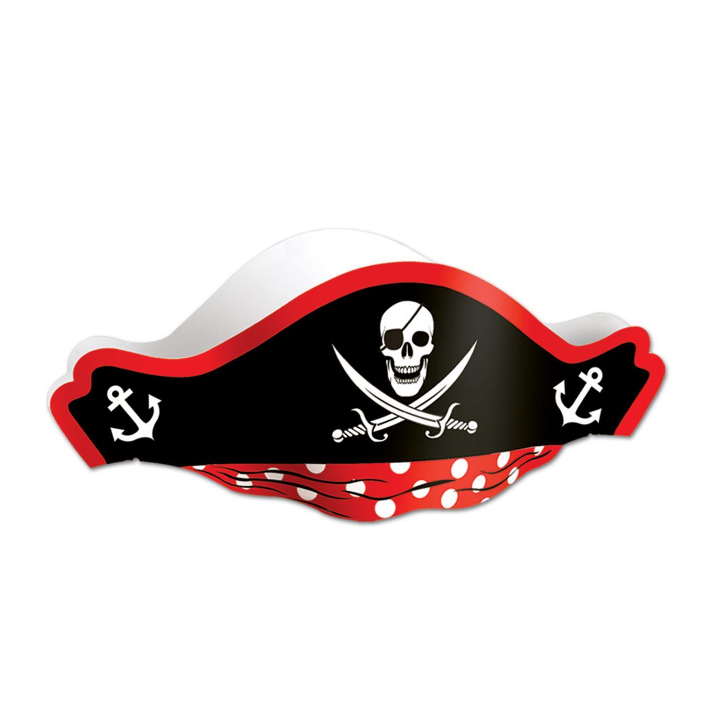 Printed Pirate Hat (48) image