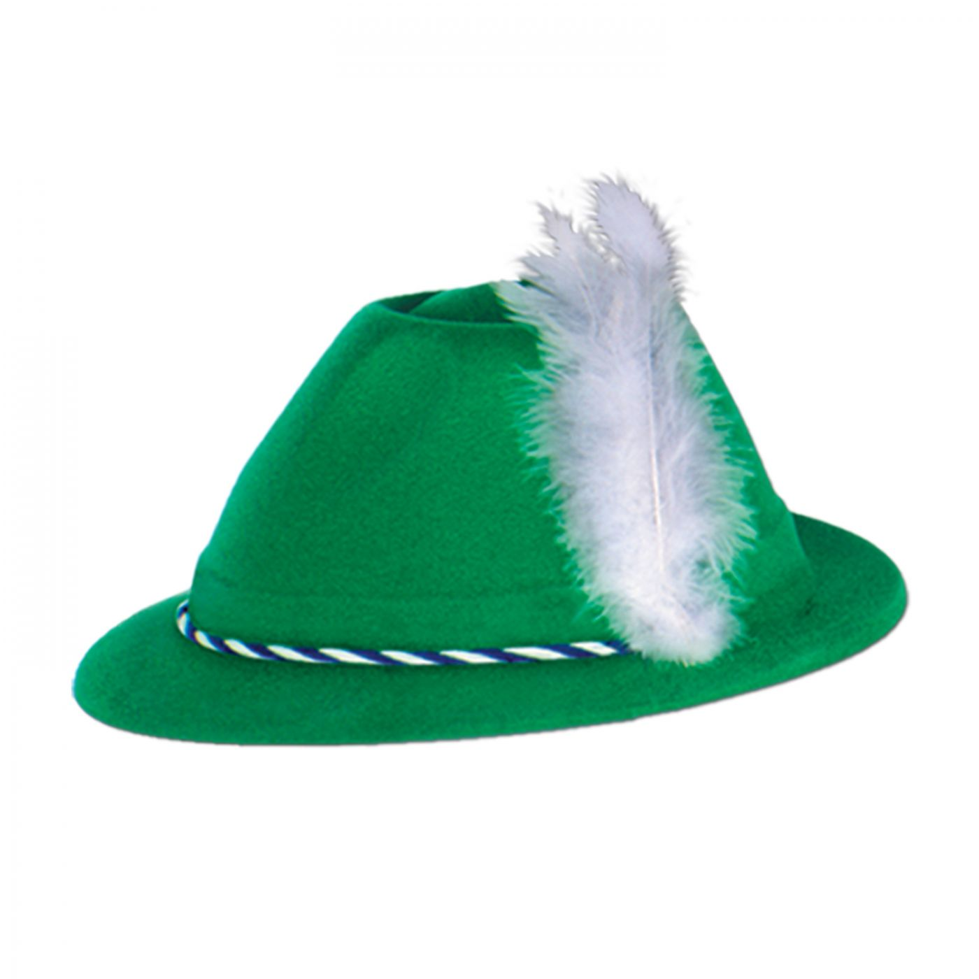 Green Velour Tyrolean Hat (24) image
