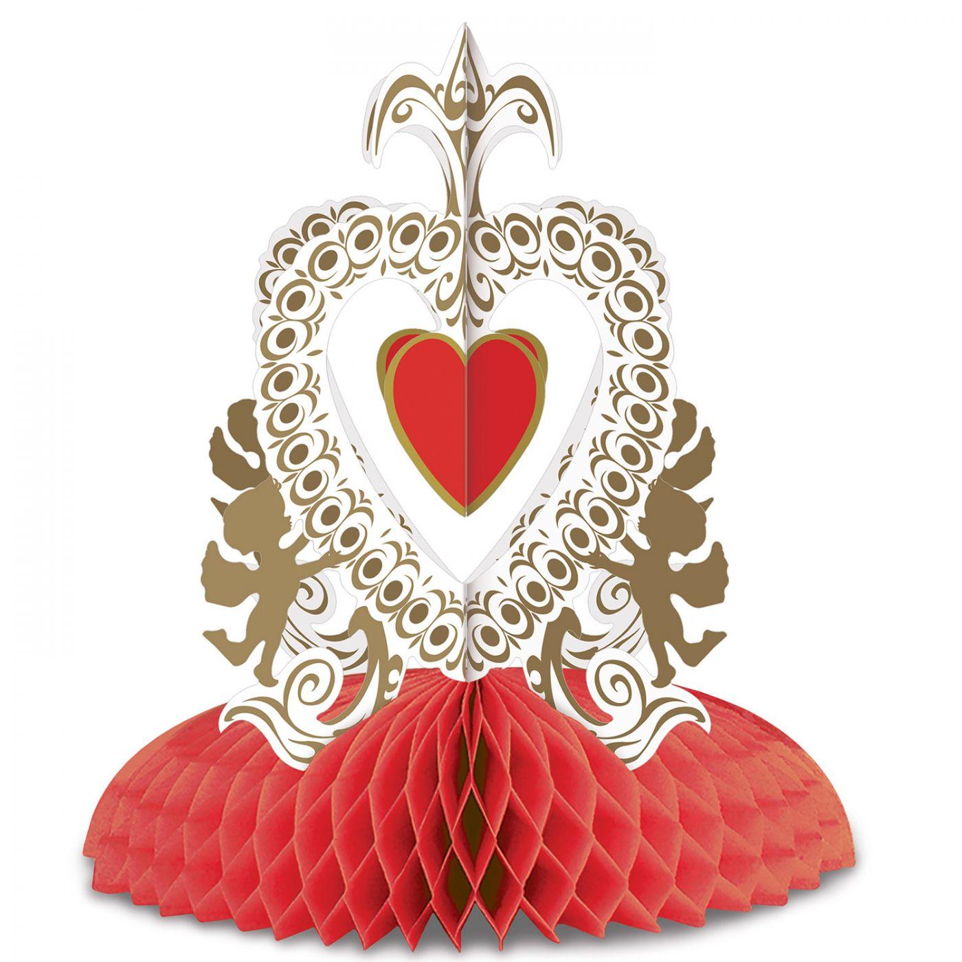 Vintage Valentine Cupid's Heart Ctrpc image