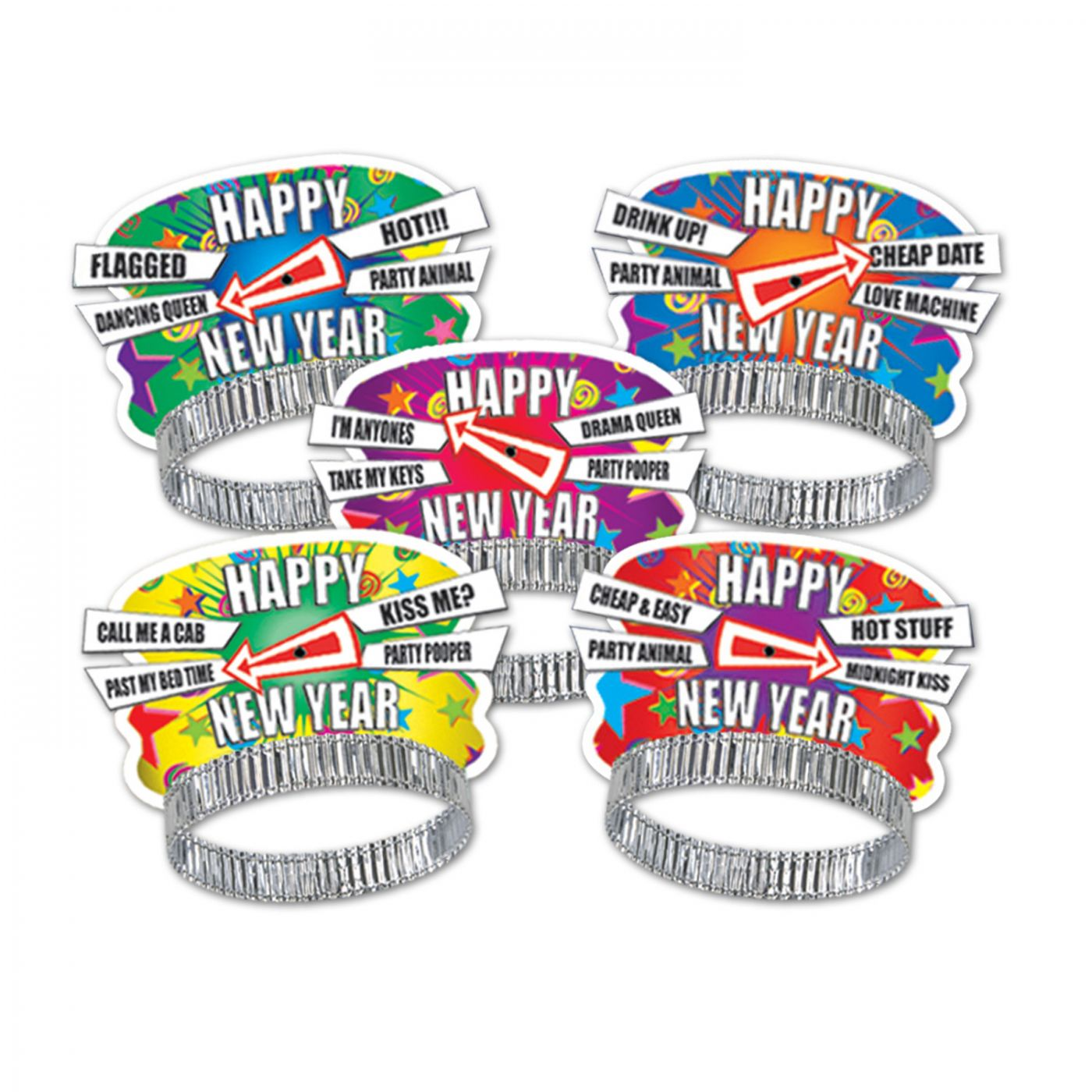 Party Personality New Year Tiaras (50) image