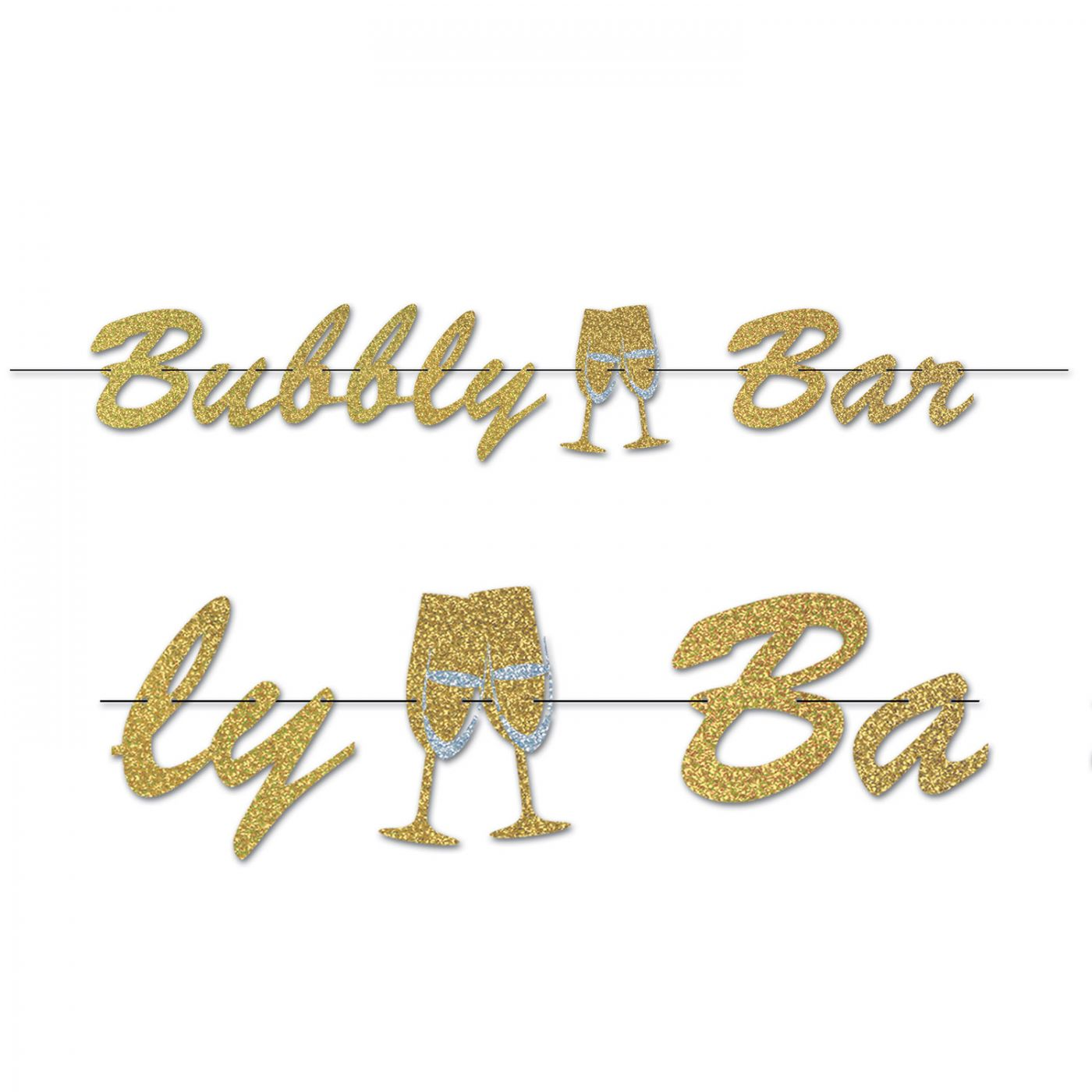 Image of Bubbly Bar Streamer