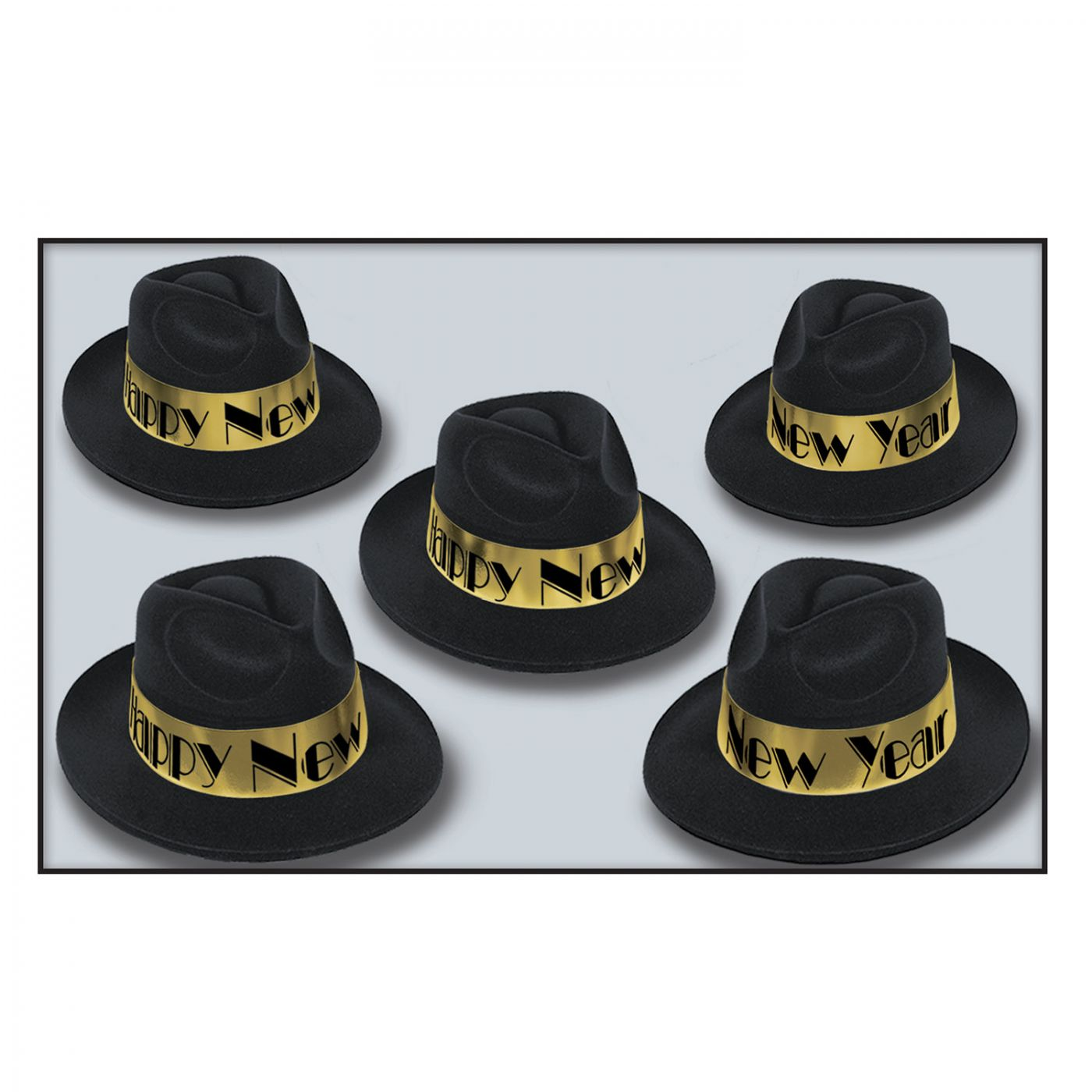 Swing Gold Fedora (25) image