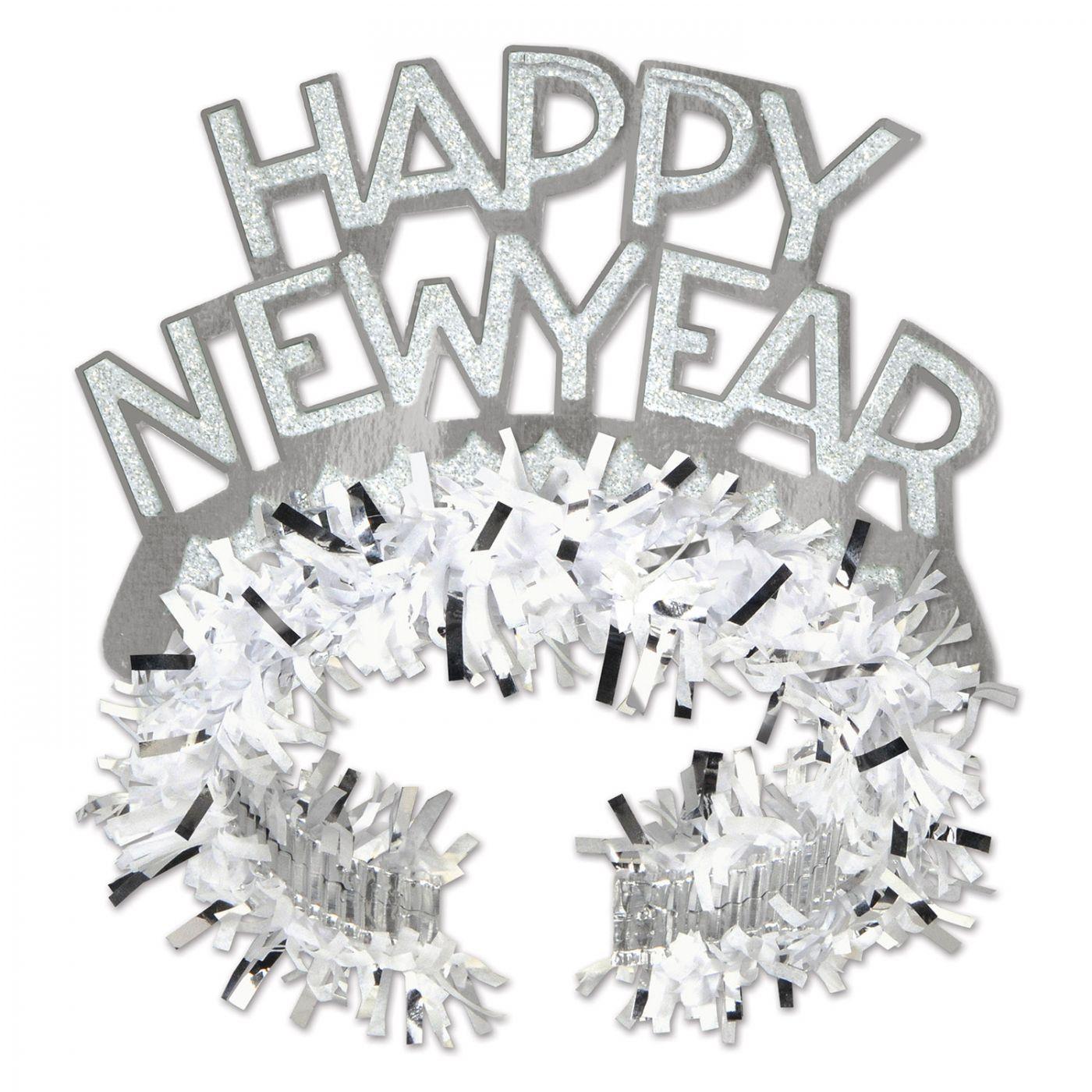 White & Silver HNY Regal Tiara (50) image