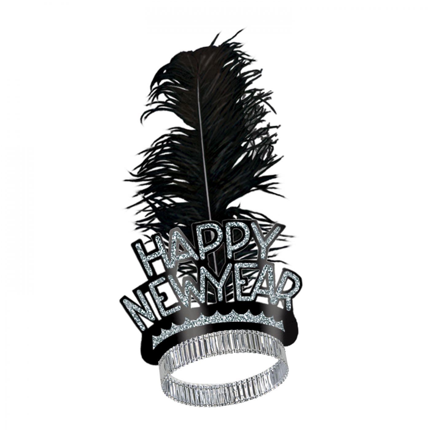 Black & Silver Swing Tiara (50) image