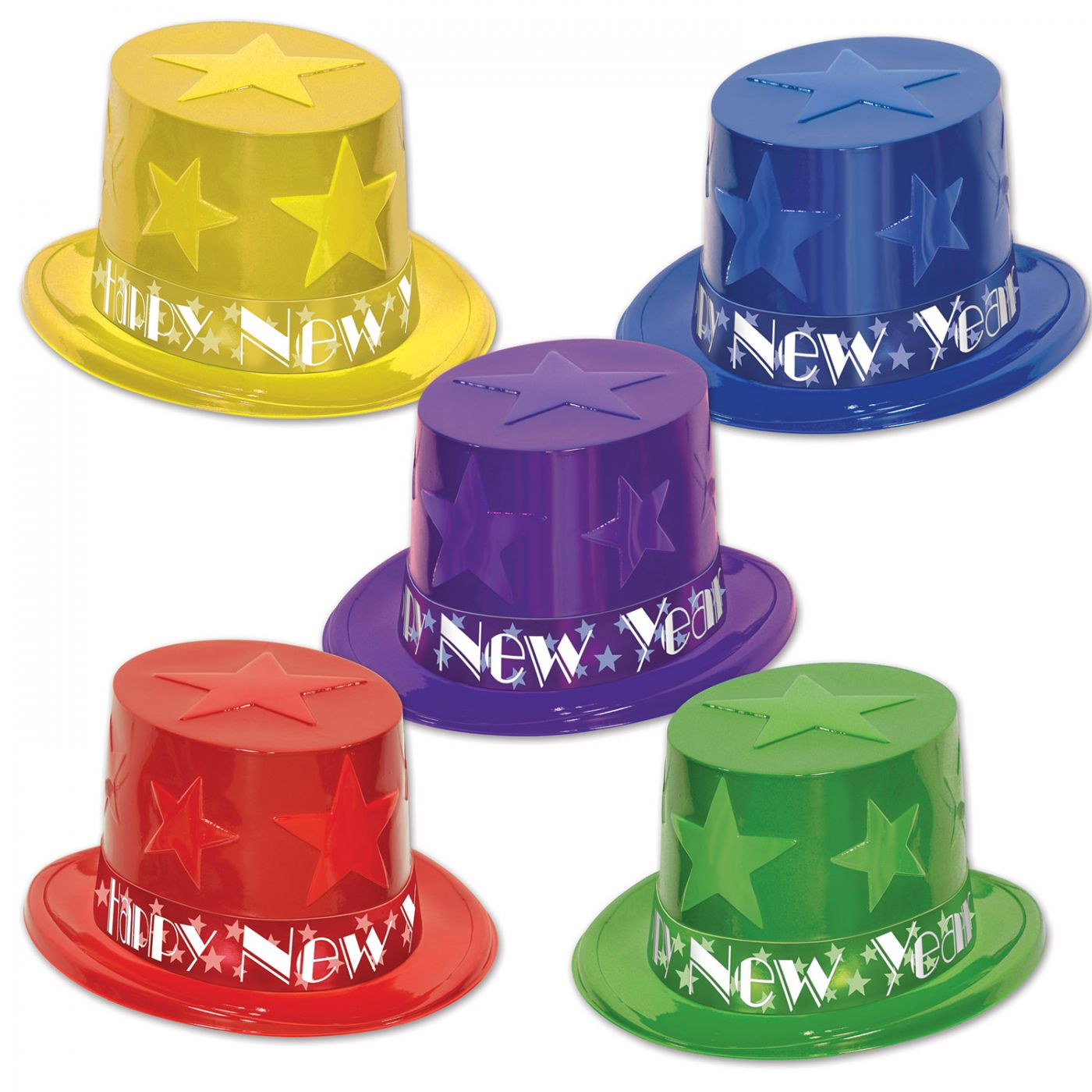 New Year Star Toppers (25) image