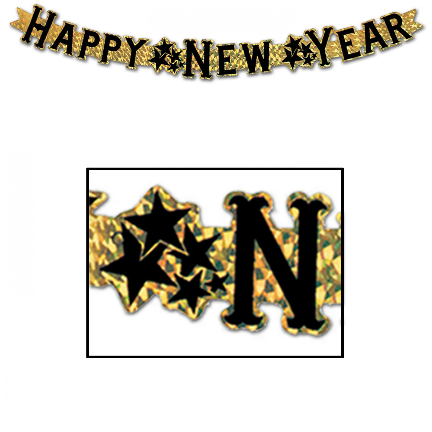 Prismatic Happy New Year Streamer image