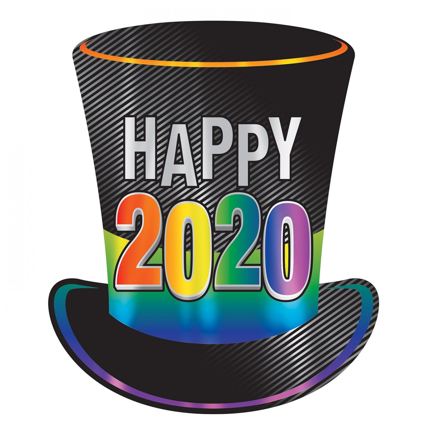 2020  Foil Top Hat Cutout image